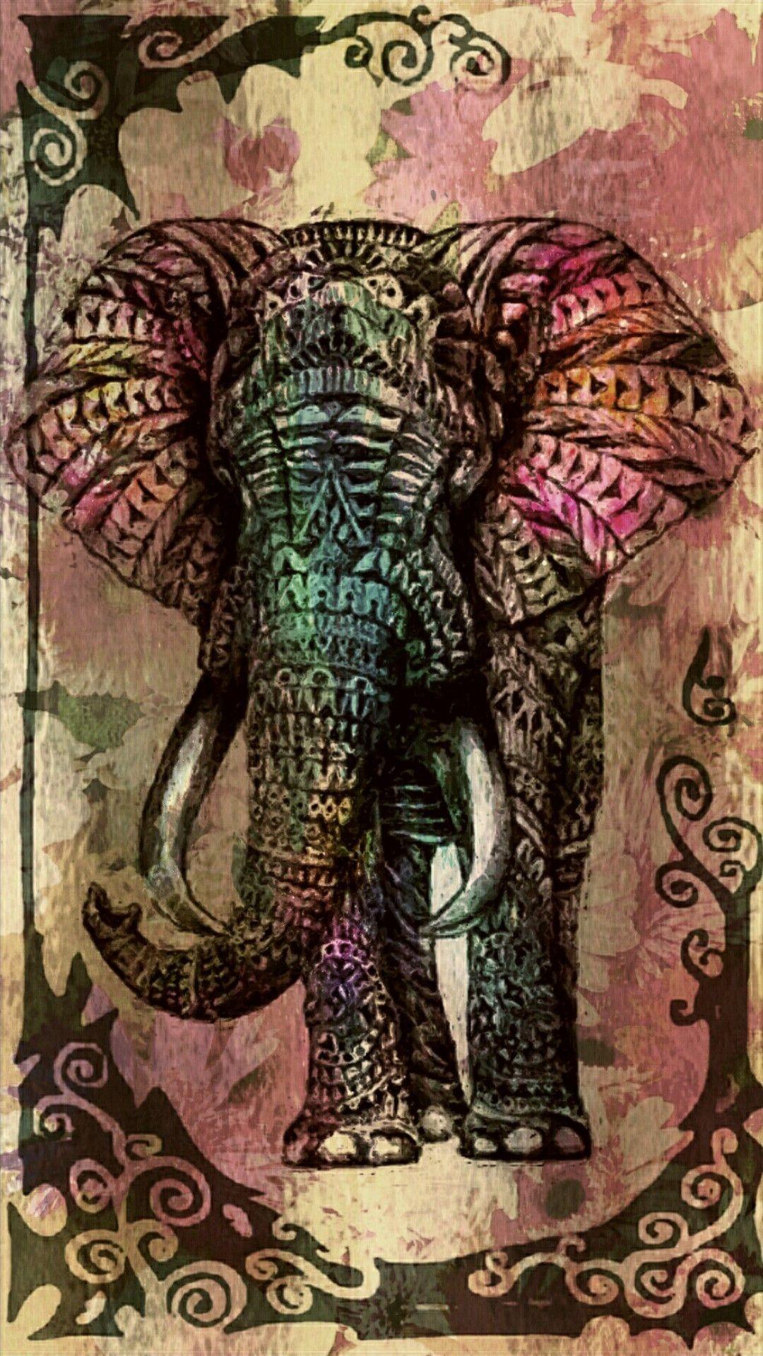 Res: 1080x1920, Tribal Elephant …