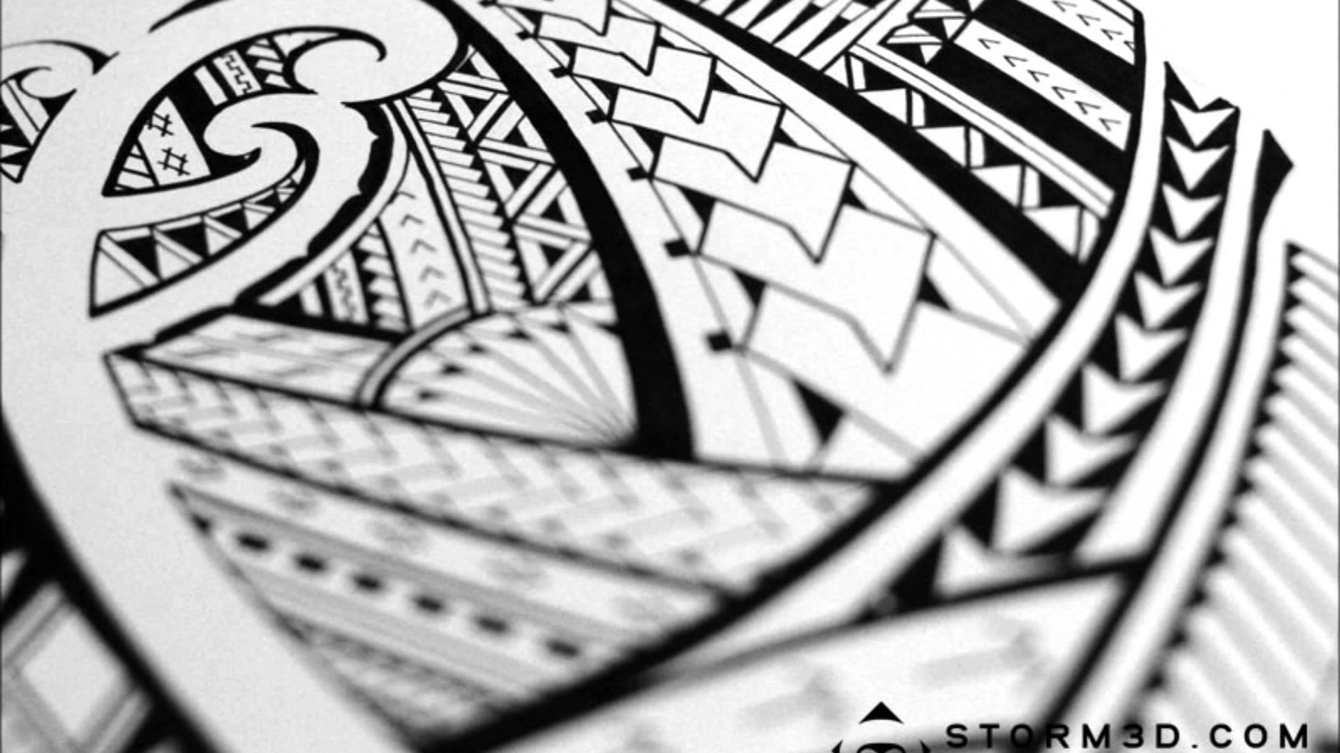 Res: 1920x1080, On M.F. Graphics: VNS.374 Polynesian Tribal Wallpaper, 0.16 Mb