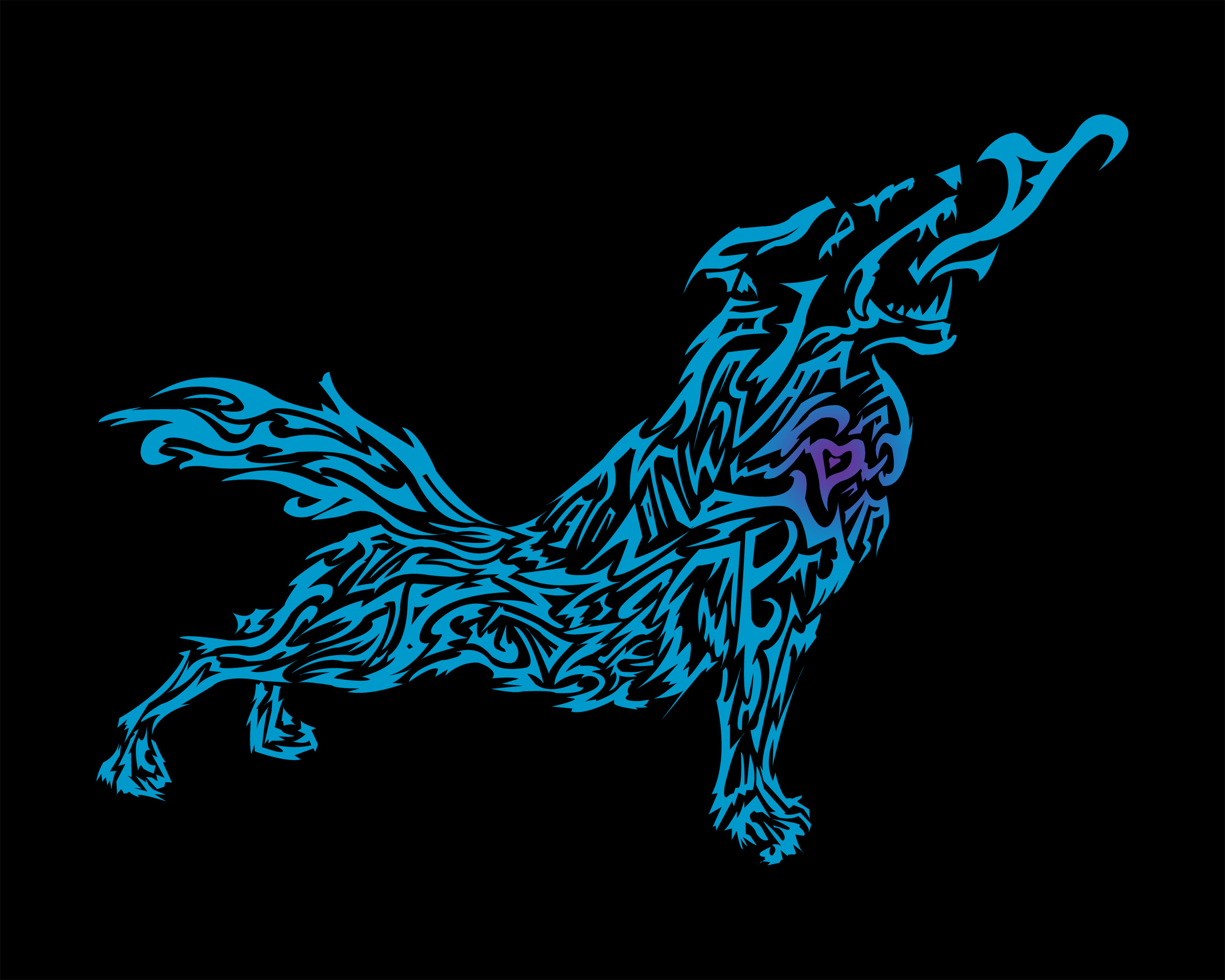 Res: 2500x2000, HD Tribal Wolf 4k Pictures
