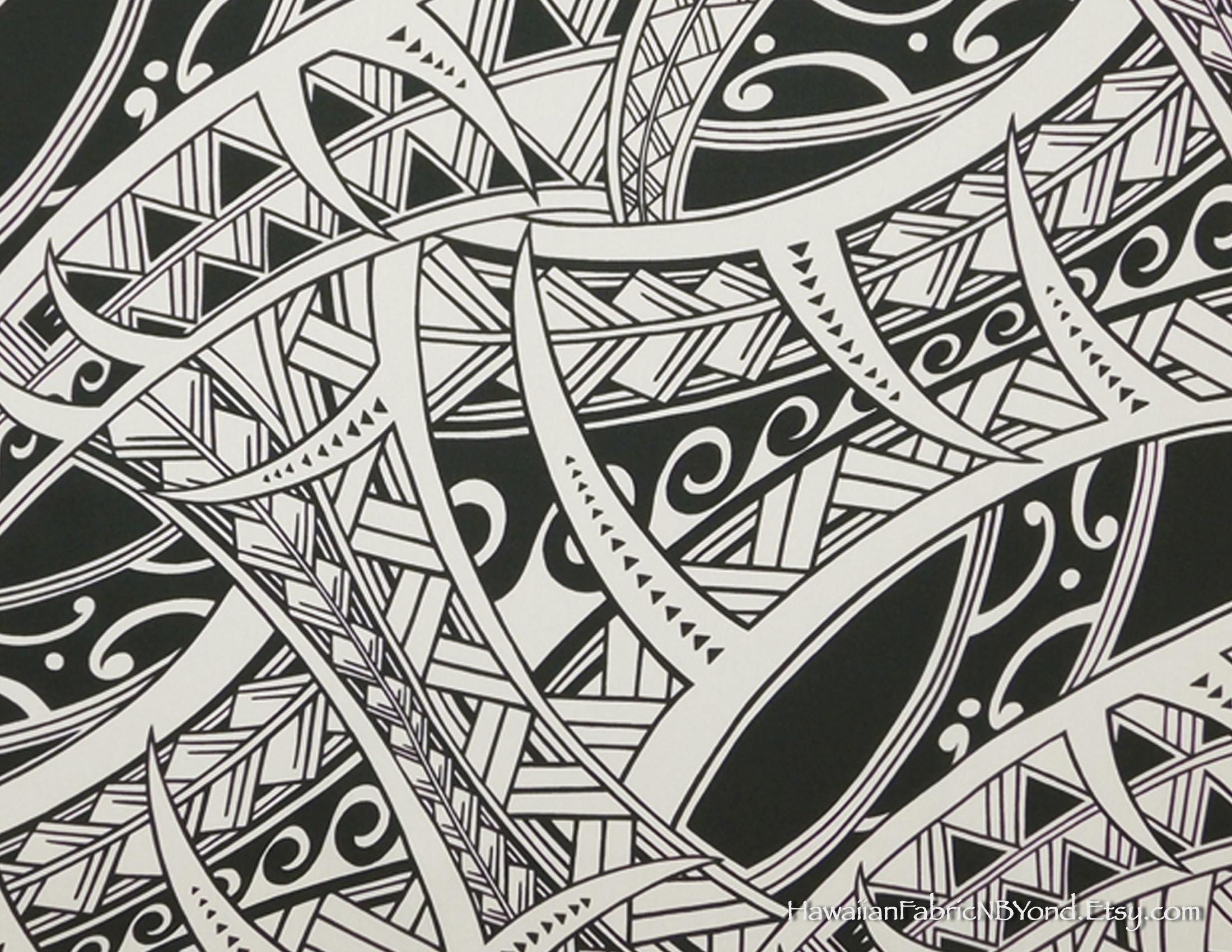 Res: 2200x1700, Polynesian Tribal Wallpaper ·① Polynesian Tribal Wallpaper ...