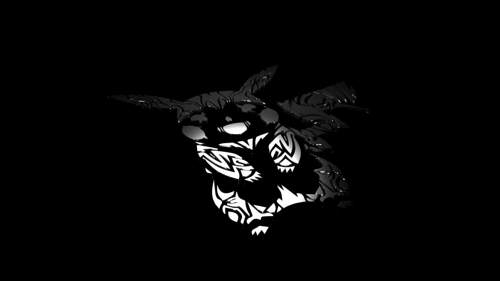 Res: 1920x1080, ... Tribal (Gemini) Pikachu Wallpaper by TheParanoidx