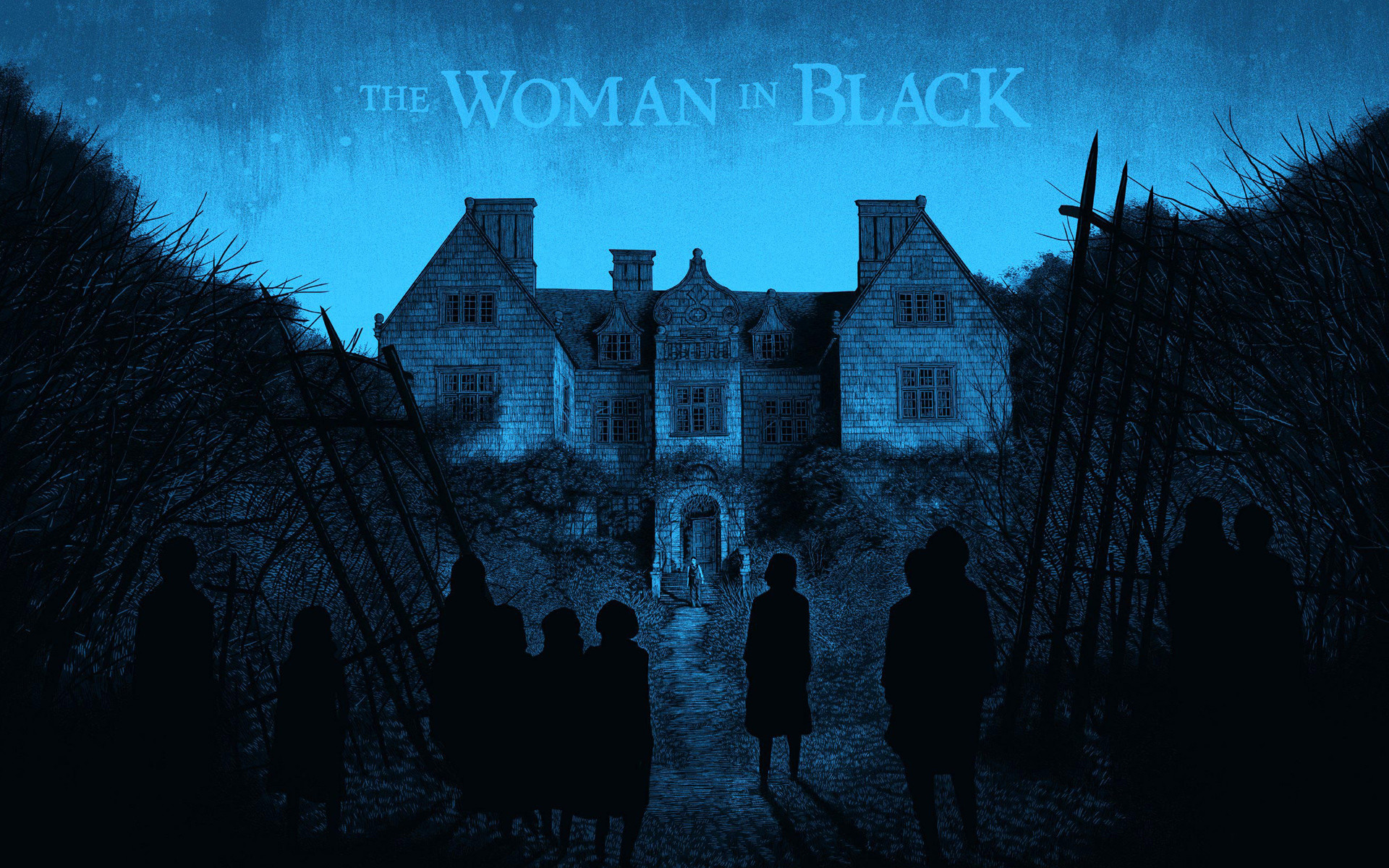 Res: 1920x1200, The Woman in Black Movie Wallpaper
