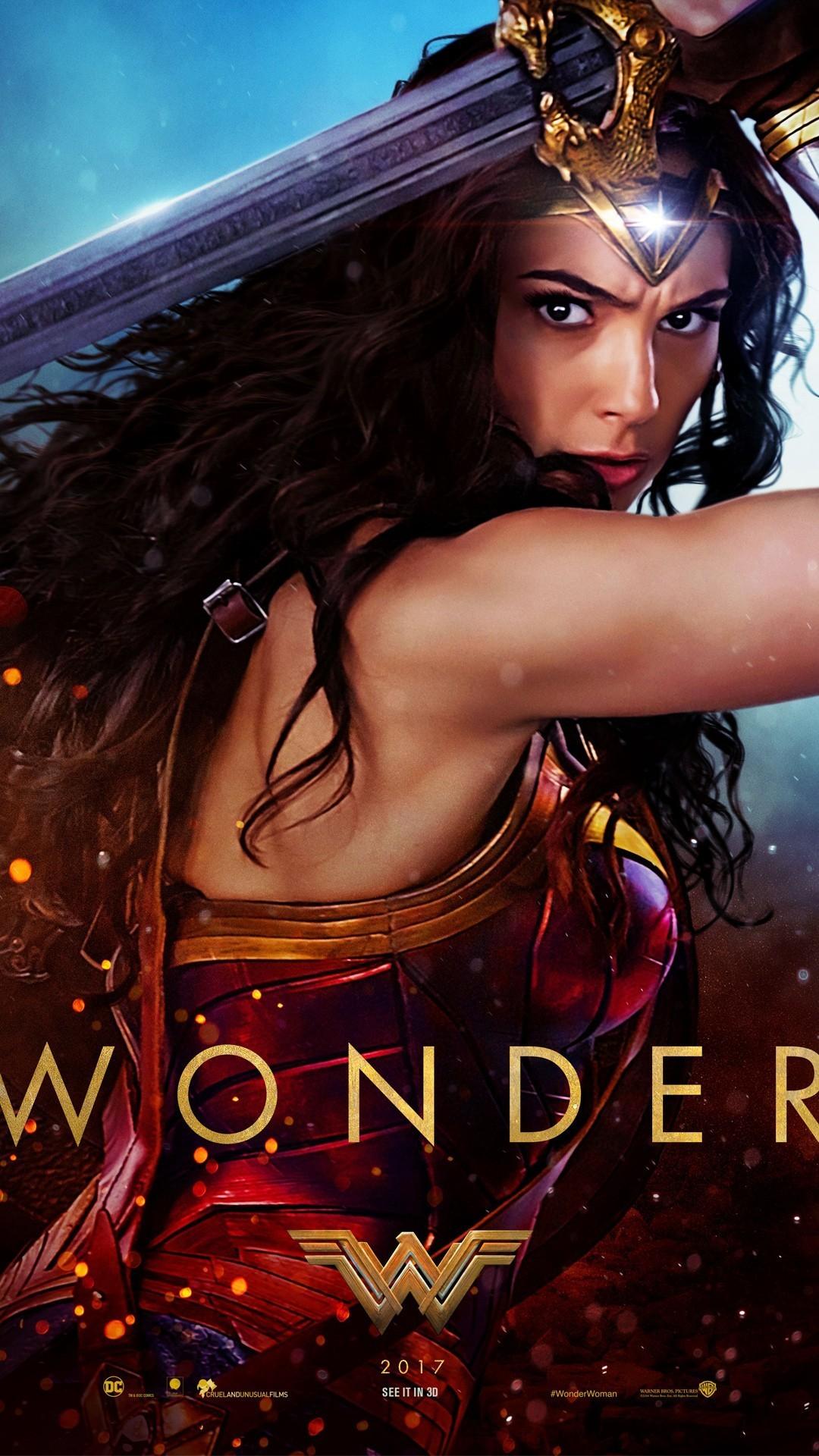 Res: 1080x1920, Wonder Woman Wallpaper 2017 resolution