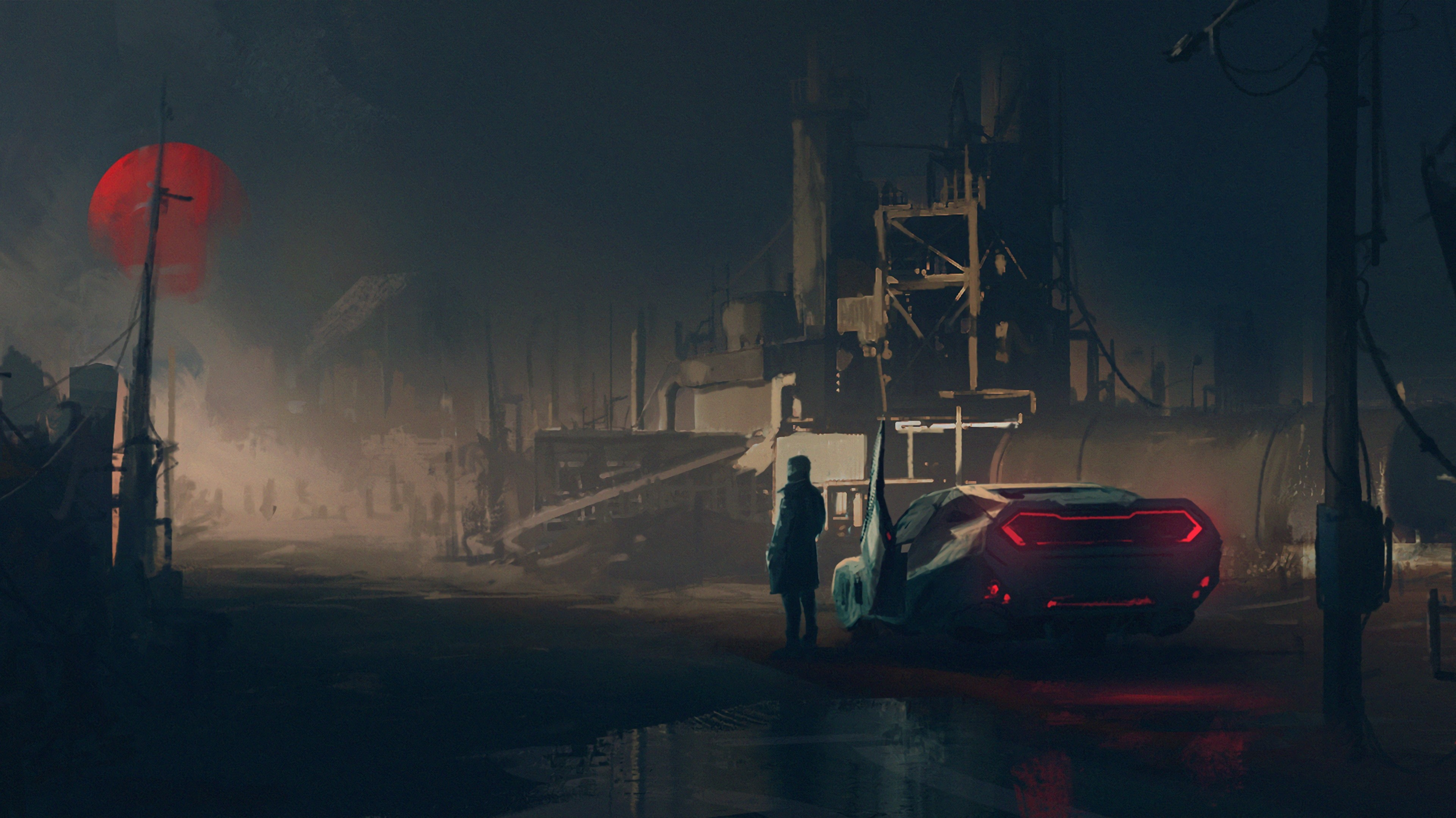 Res: 3840x2160, Blade Runner Wallpapers 5 - 3840 X 2160
