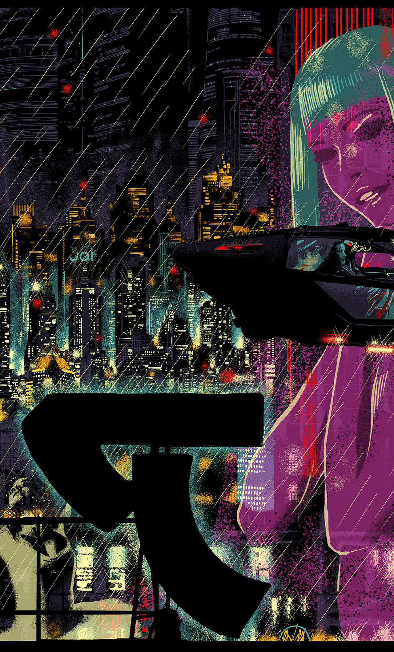 Res: 1280x2120, Blade Runner Wallpaper
