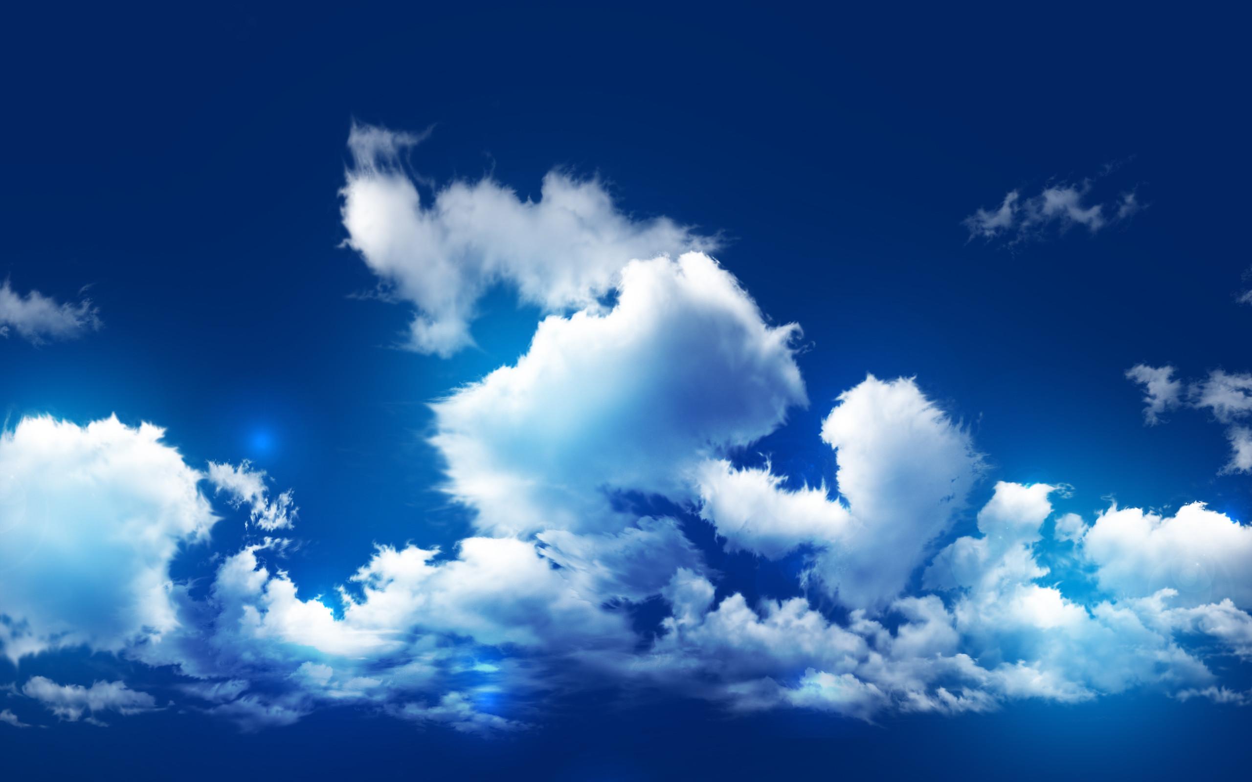 Res: 2560x1600, Cloudy Sky Wallpaper