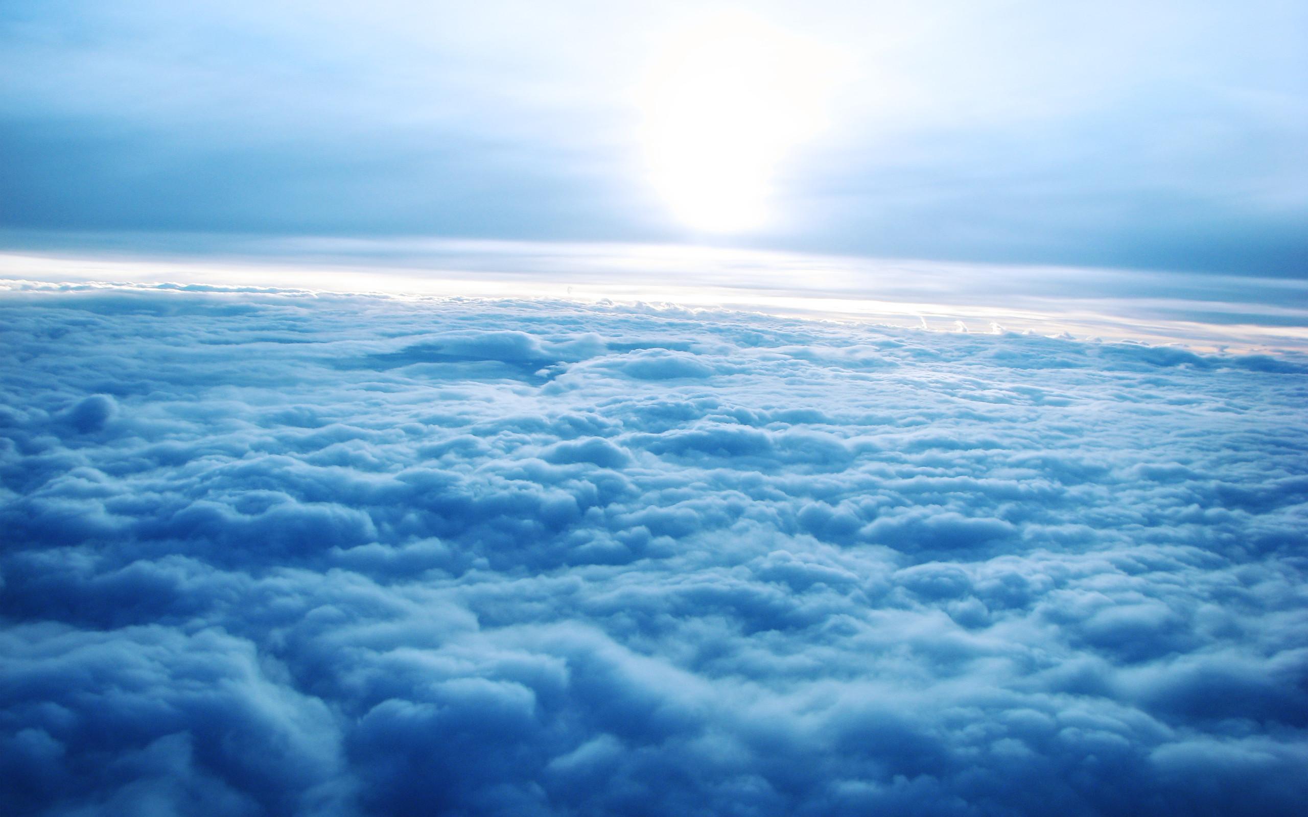 Res: 2560x1600, Earth - Cloud Sky Sun Wallpaper