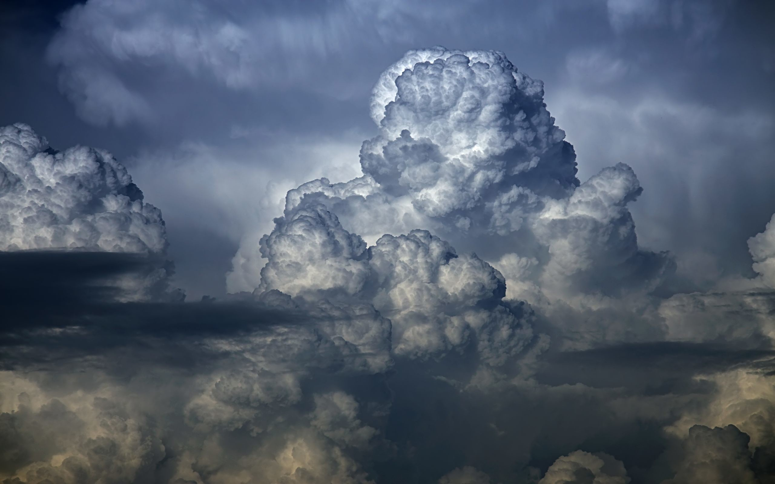 Res: 2560x1600, Rain Cloud Wallpaper free download.