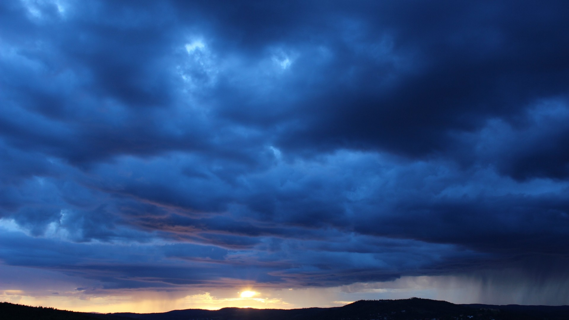Res: 1920x1080, Nature Sky Rain Clouds