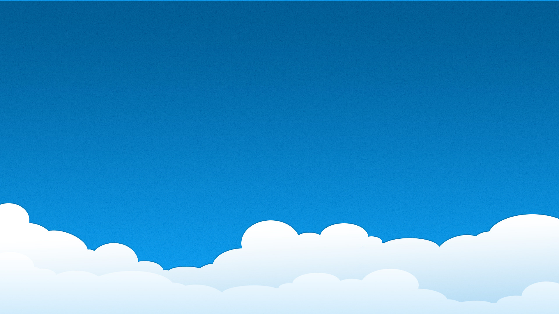 Res: 1920x1080, Simple Cloud Wallpaper