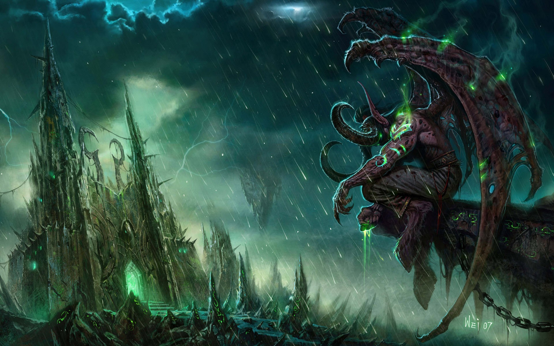 Res: 1920x1200, World of Warcraft PC Game Wallpaper