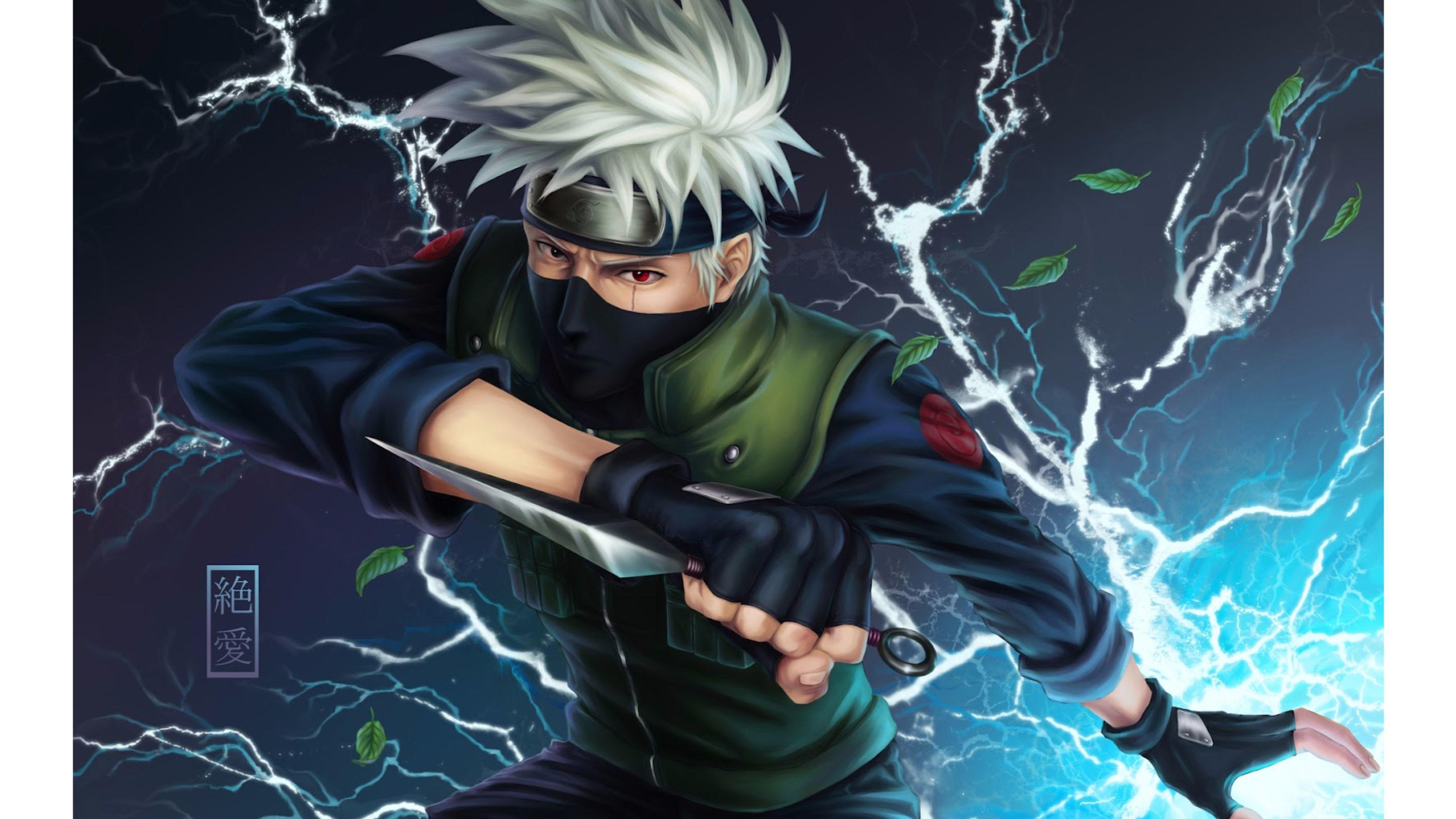 Res: 3840x2160, Ninja 4K Anime Wallpapers | Free 4K Wallpaper
