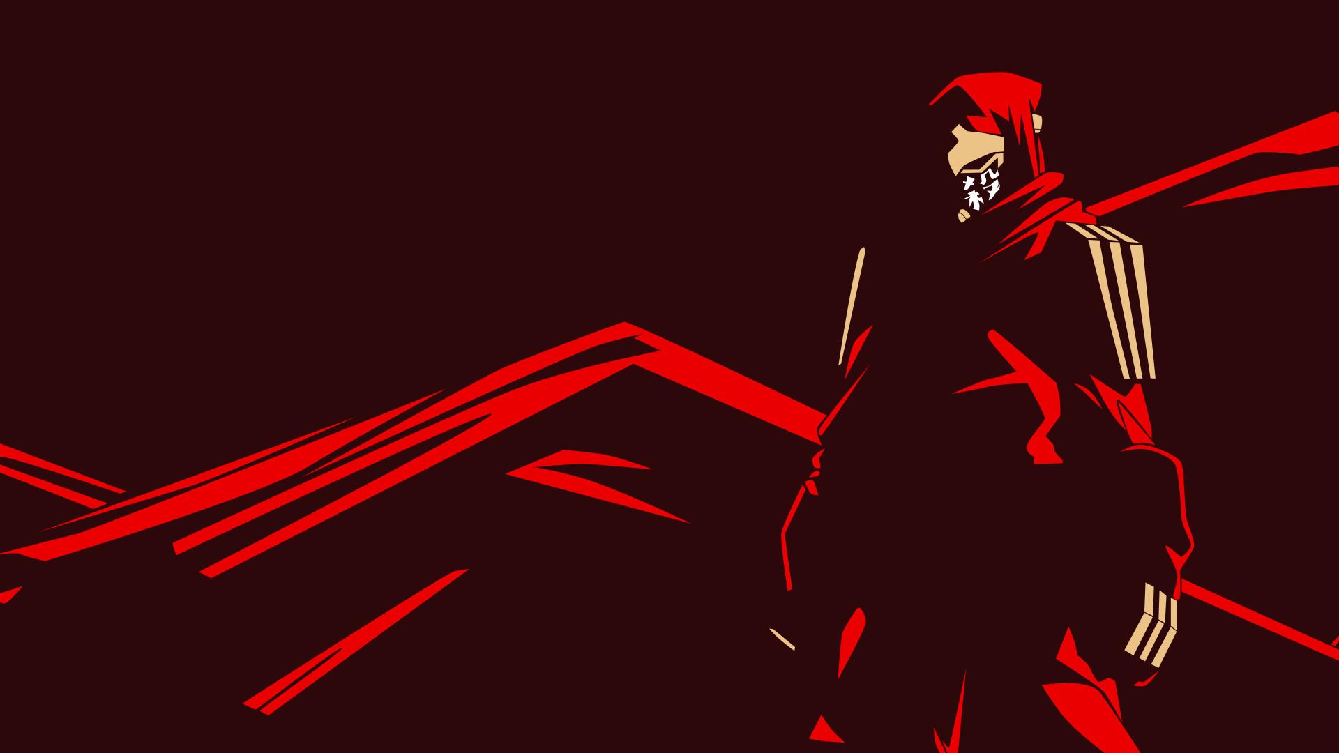 Res: 1920x1080, Ninja Slayer Vector Wallpaper by herrerarausaure on DeviantArt