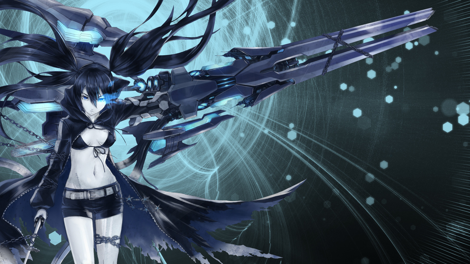 Res: 1920x1080, Black Rock Shooter Wallpapers