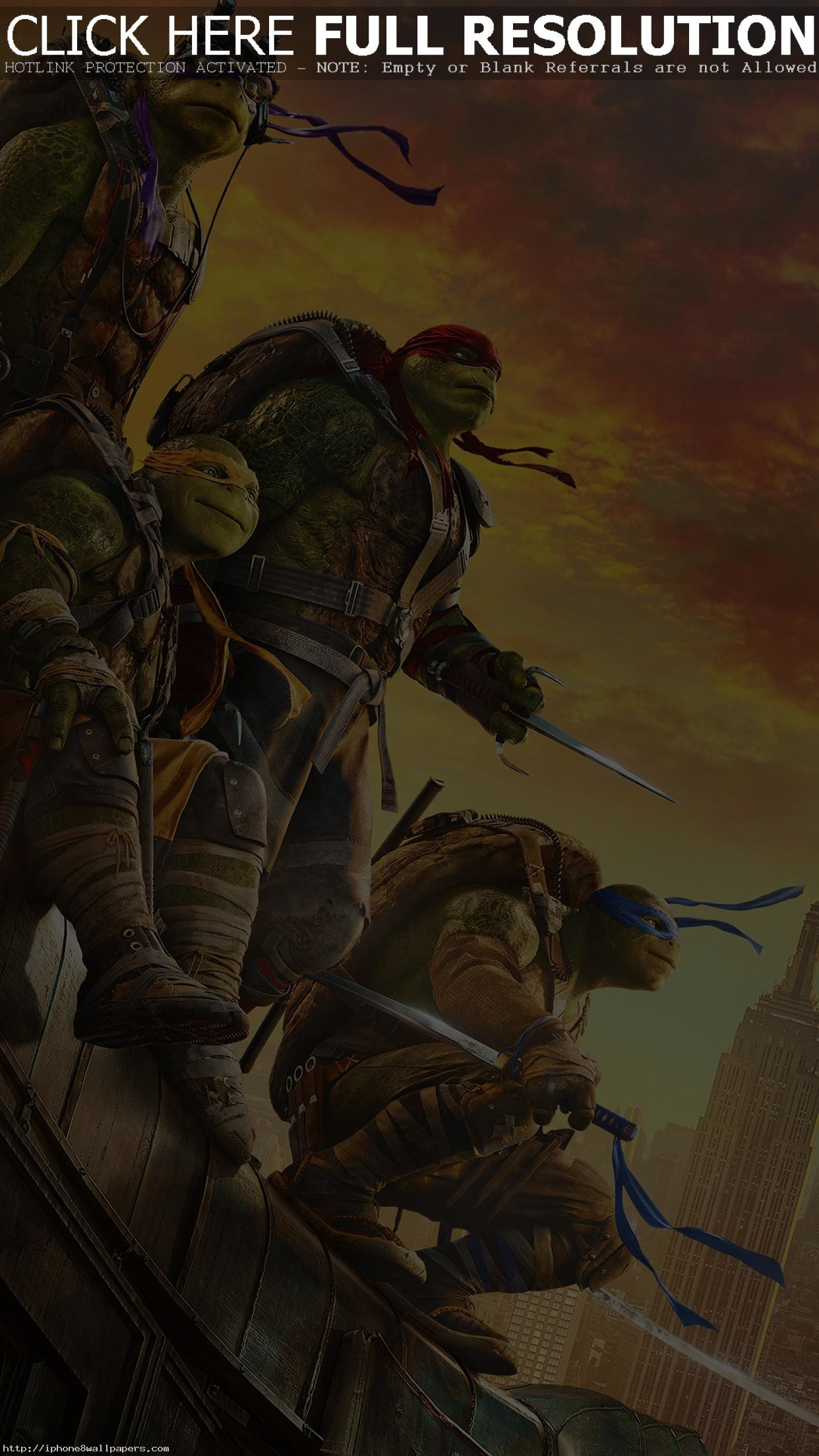 Res: 1242x2208, Ninja Turtle Poster Film Anime Art Android wallpaper - Android HD wallpapers