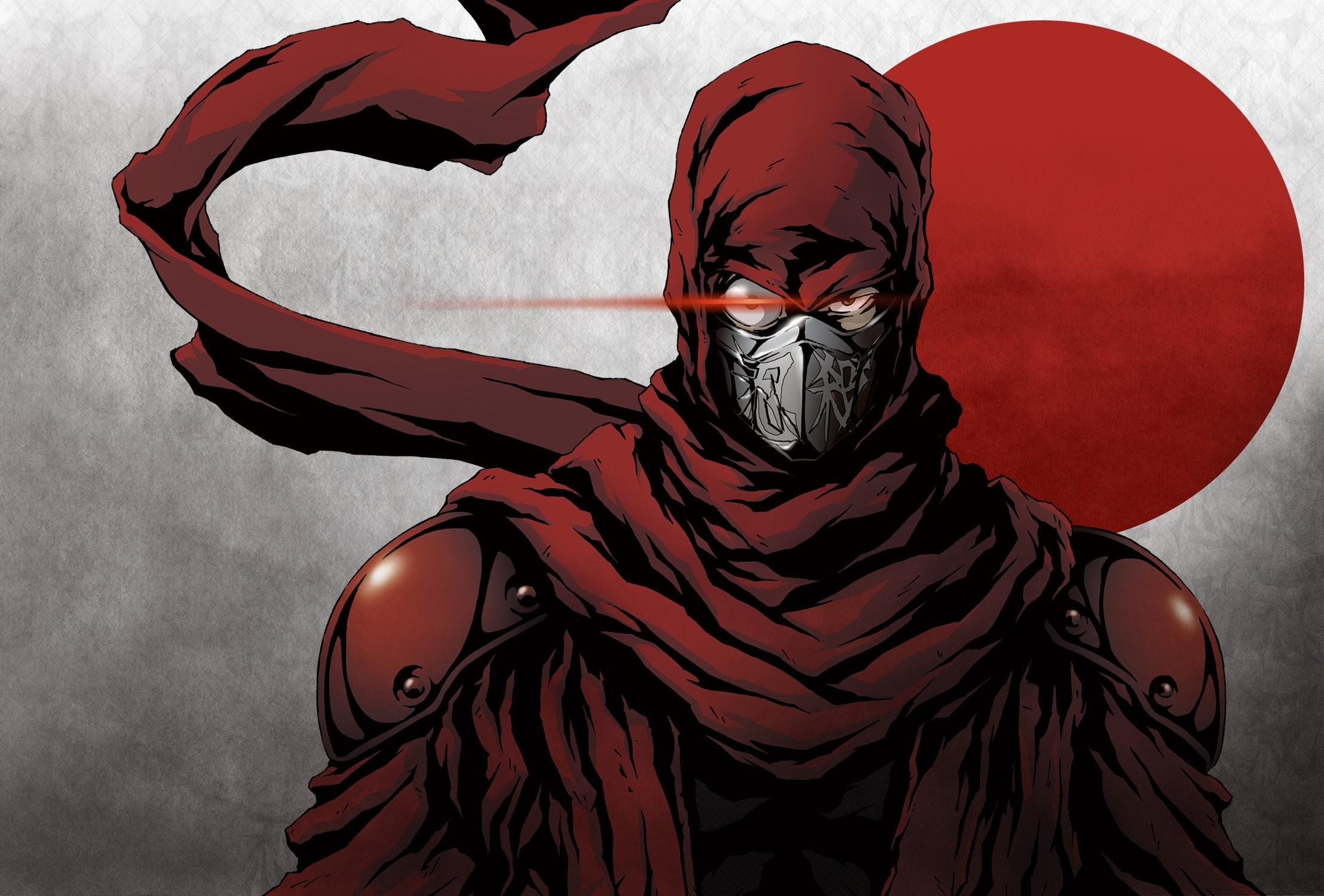 Res: 2216x1500, NINJA SLAYER Ninjasureiya sci-fi cyberpunk fighting animation anime  1nslayer warrior wallpaper |  |