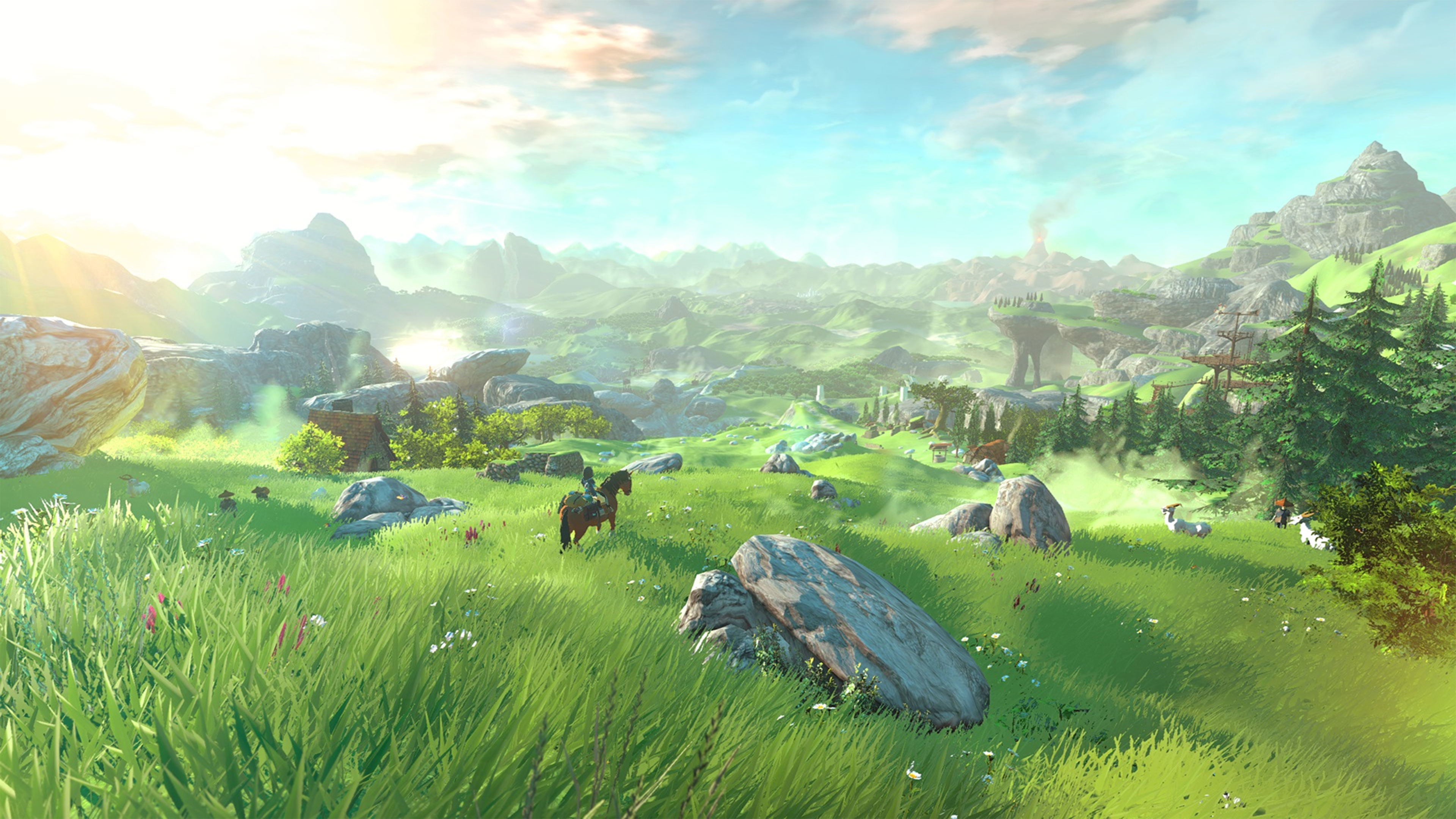 Res: 3840x2160, The Legend of Zelda Twilight Princess HD 4K Wallpaper ...
