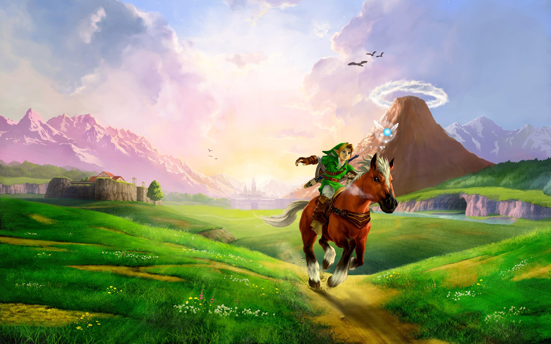 Res: 2880x1800, The Legend of Zelda Ocarina of Time Wallpaper