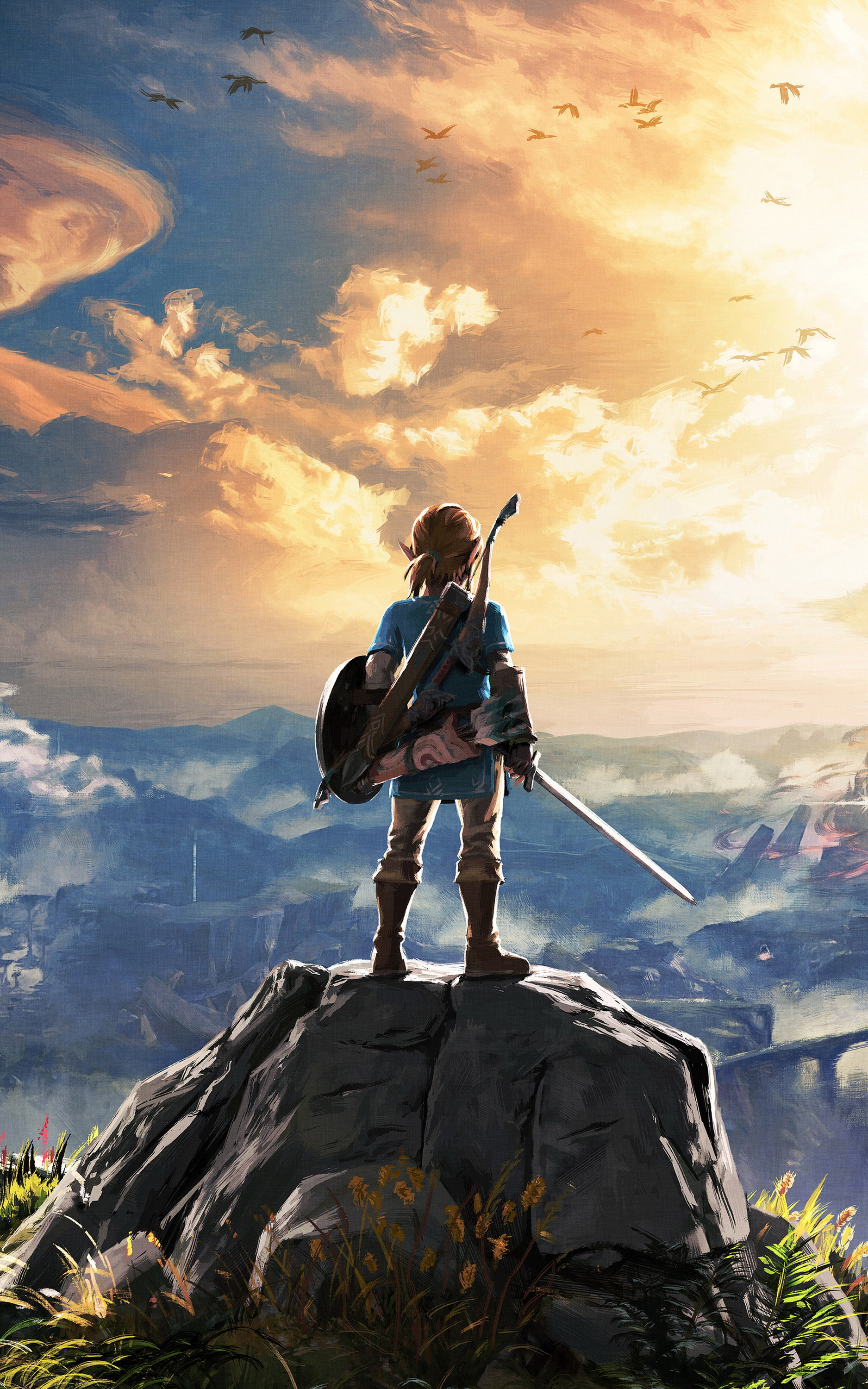 Res: 1875x3000, Breath of the Wild https://imgur.com/7auFaDB If the Witcher is getting  adapted, why won't this?!