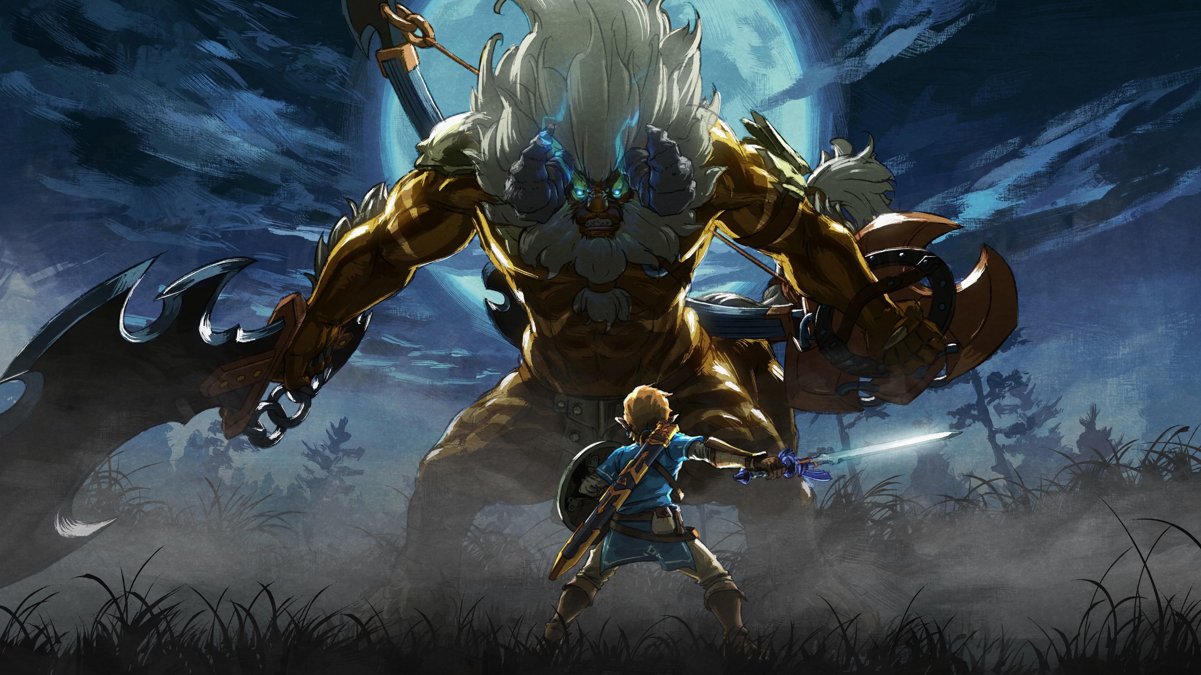 Res: 3840x2160, Games / The Master Trials Wallpaper