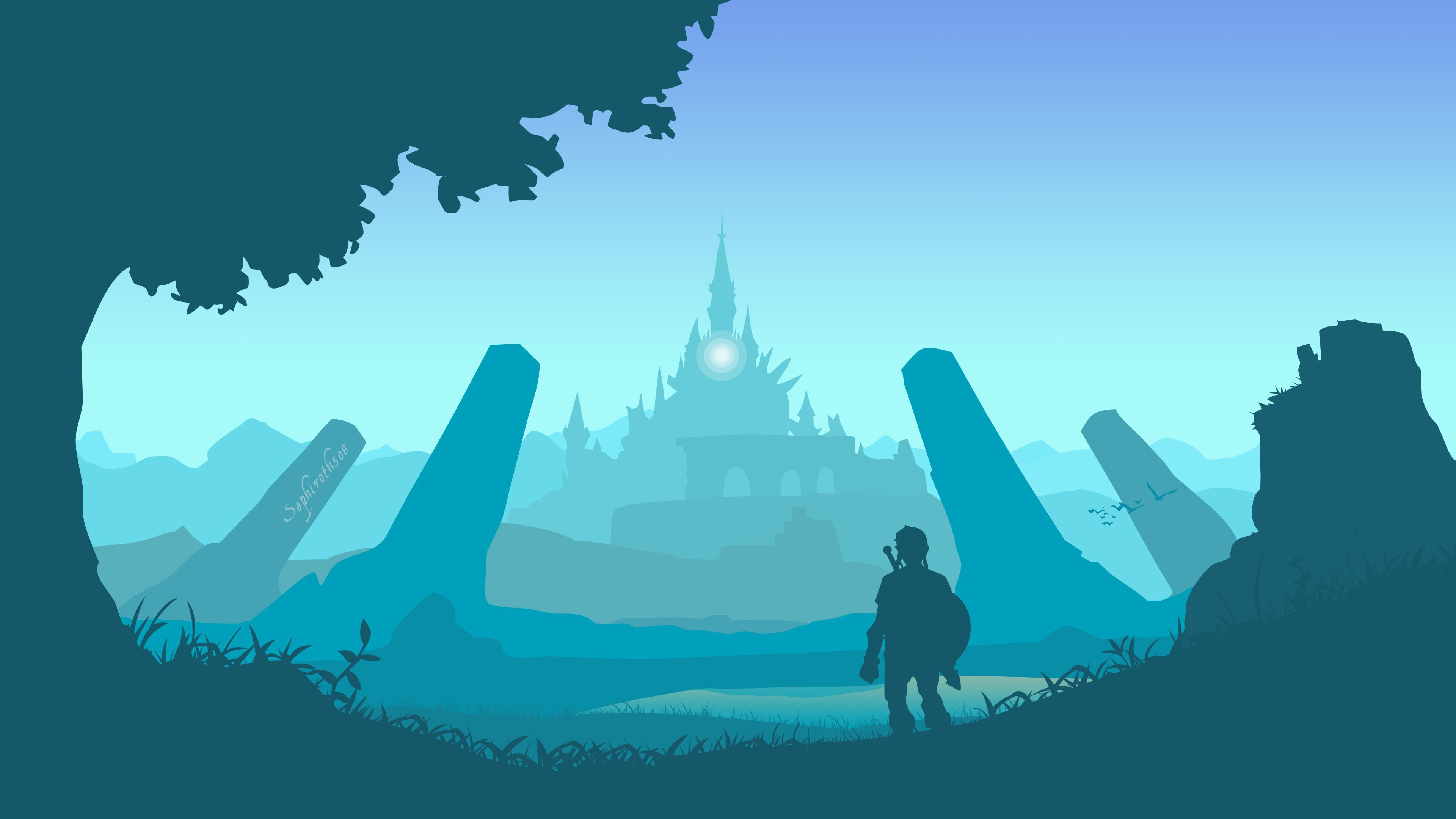 Res: 3840x2160, The Legend Of Zelda Breath Of The Wild Art