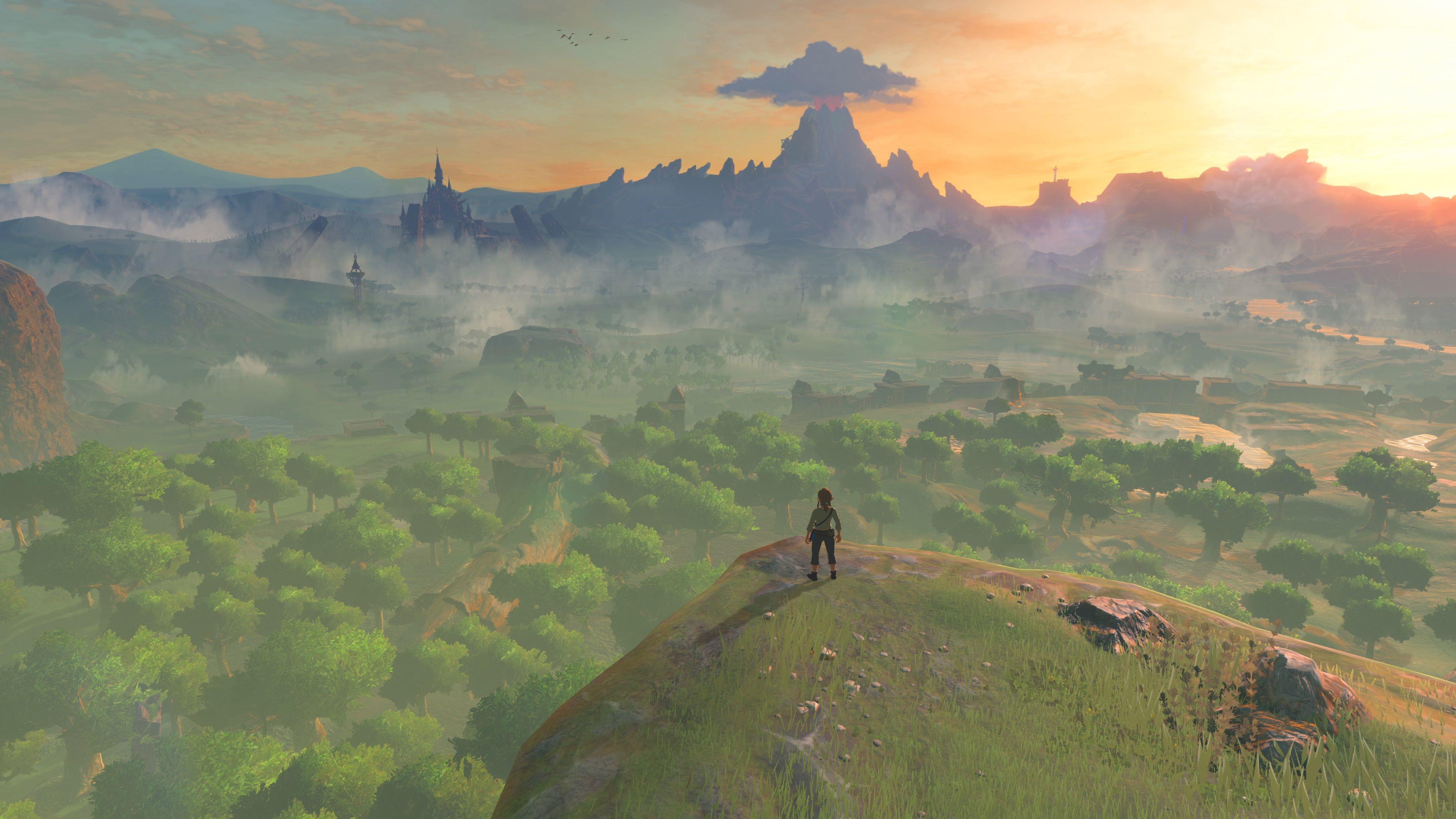 Res: 3840x2160, The Legend Of Zelda 4k