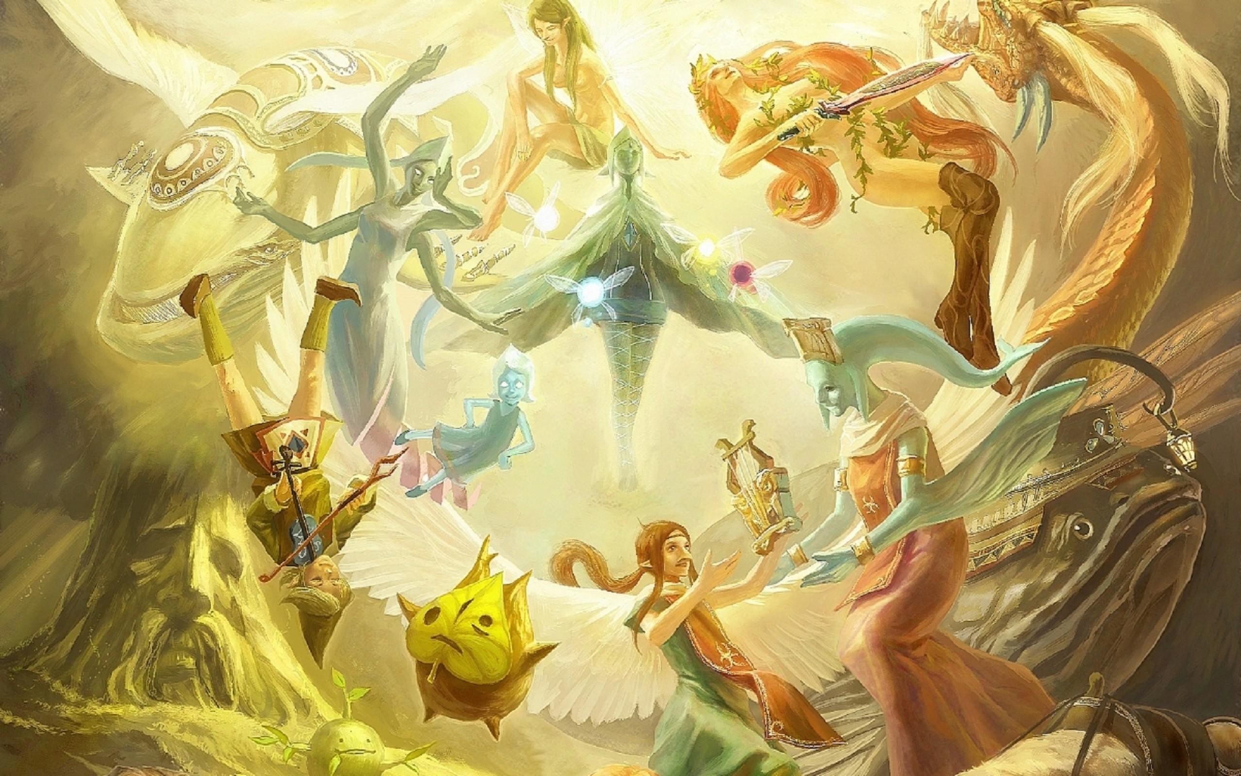 Res: 2560x1600, The Legend Of Zelda 4K