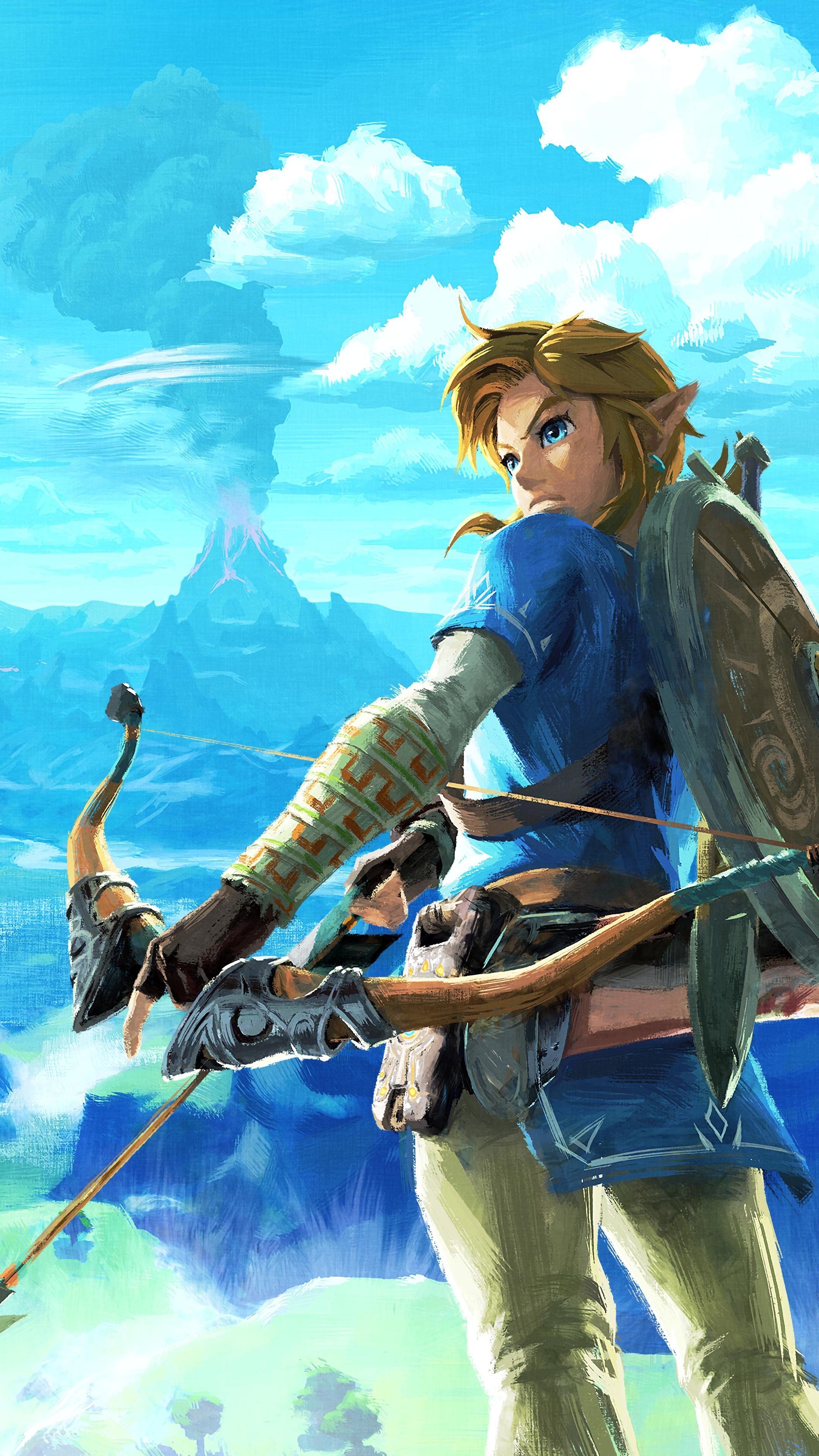 Res: 2160x3840, Zelda wallpaper 4K