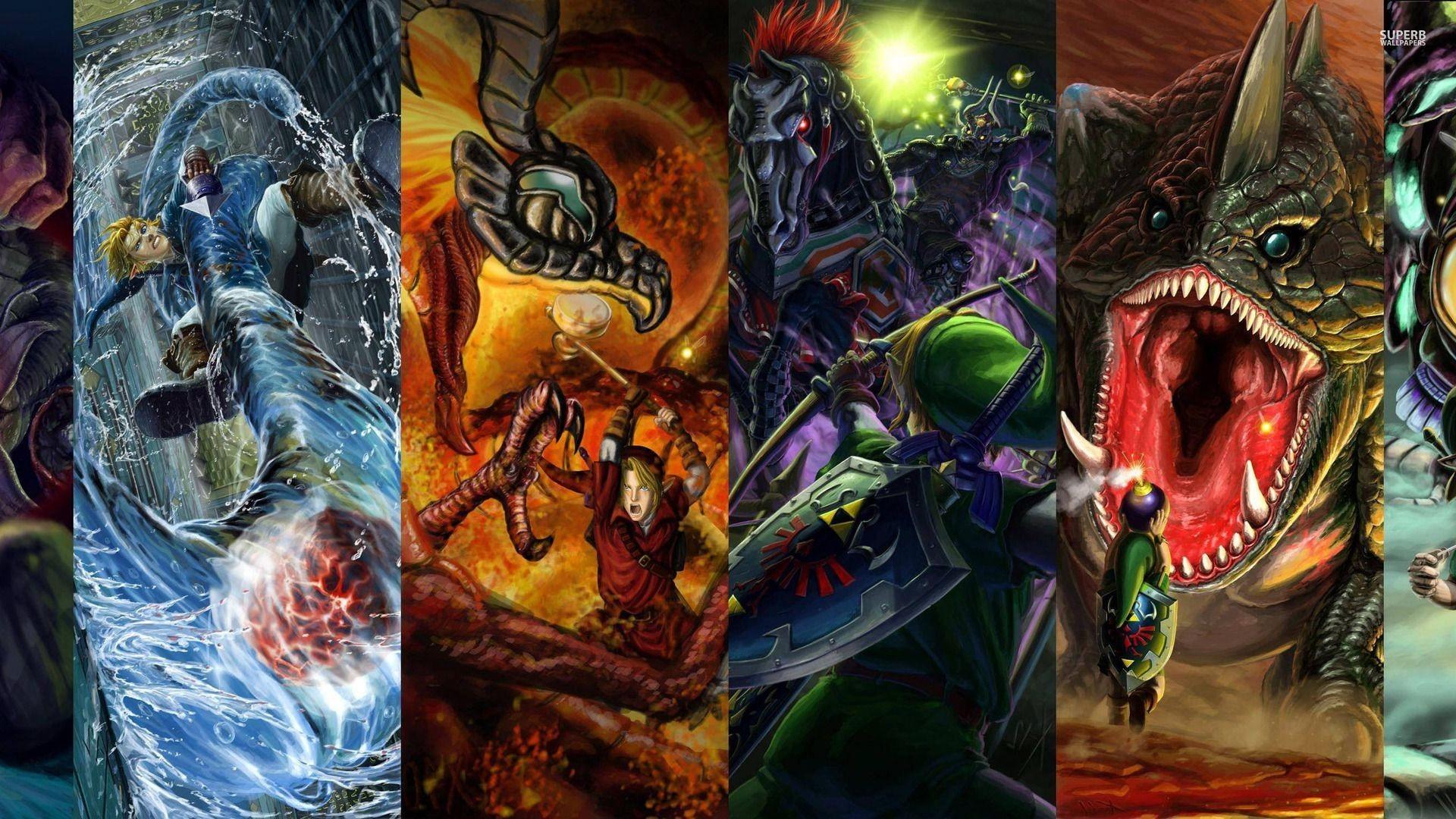 Res: 1920x1080, The Legend of Zelda wallpaper - Game wallpapers - #27410