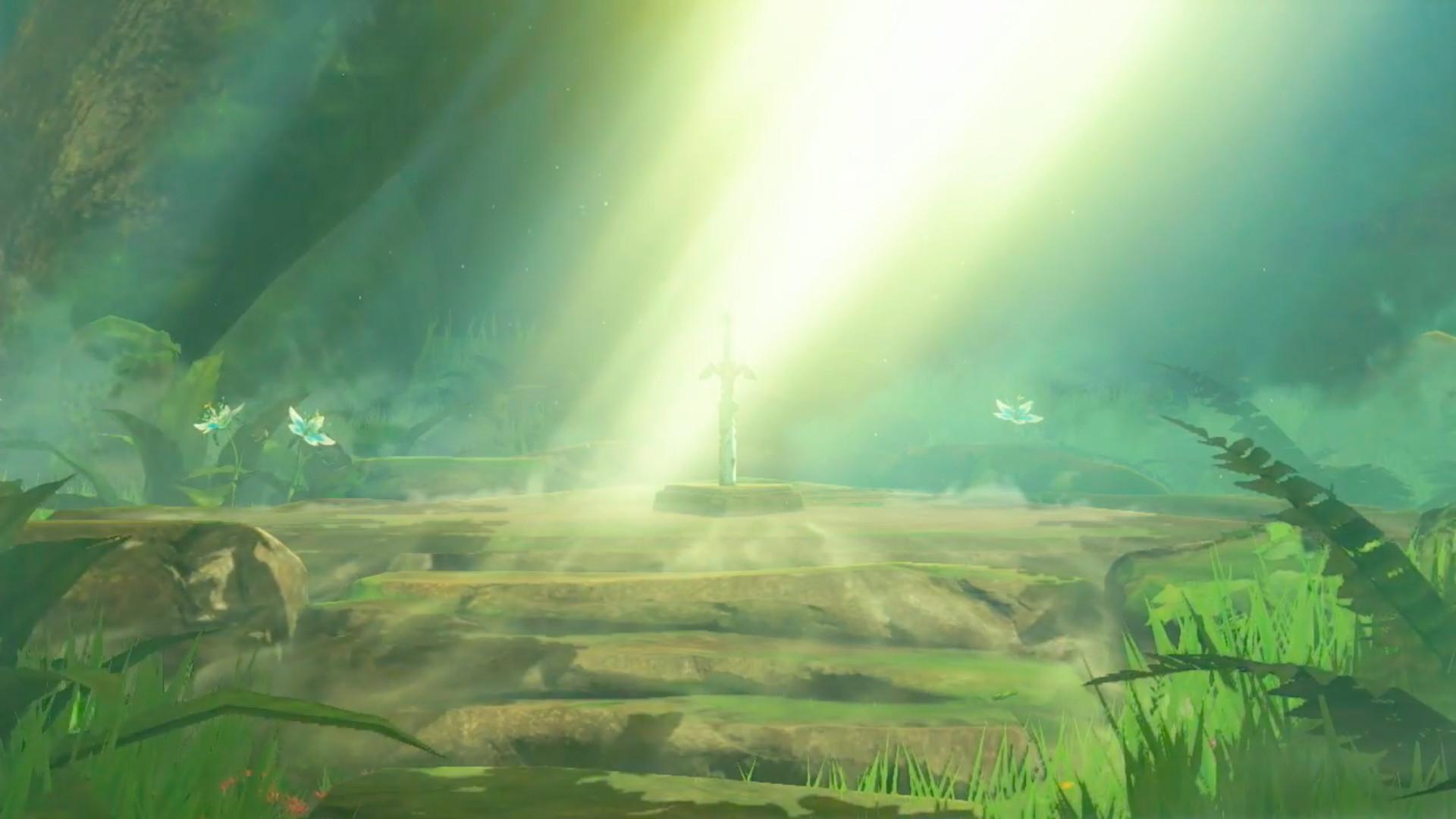 Res: 1920x1080,  Master Sword - Zelda Breathe of the Wild .