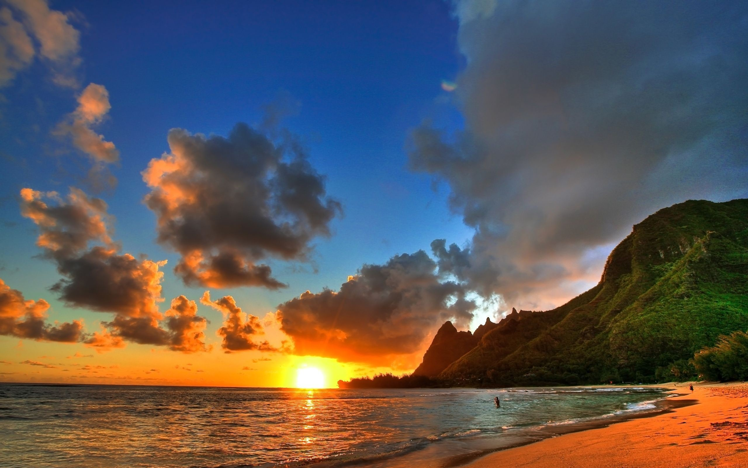 Res: 2560x1600, Hawaii Sunset Wallpaper For Iphone