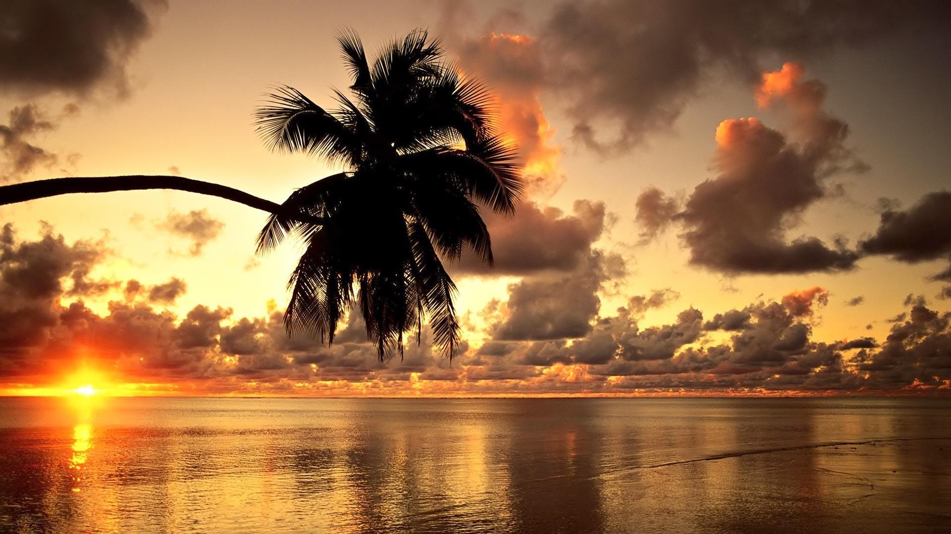 Res: 1920x1080, Hawaii Sunset Wallpaper 1080p