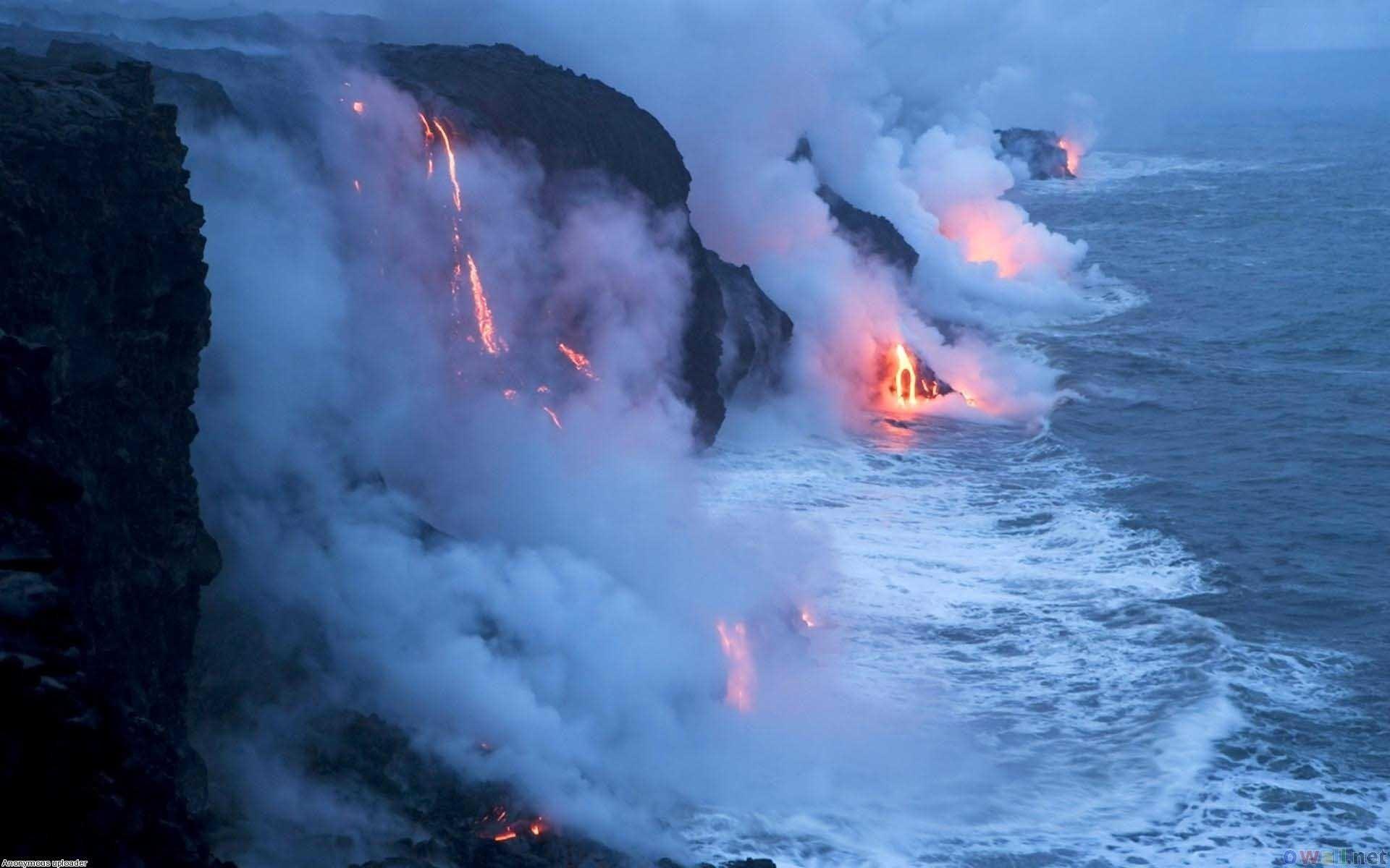Res: 1920x1200, Travel Volcano Hawaiian Screensavers Free Wallpaper