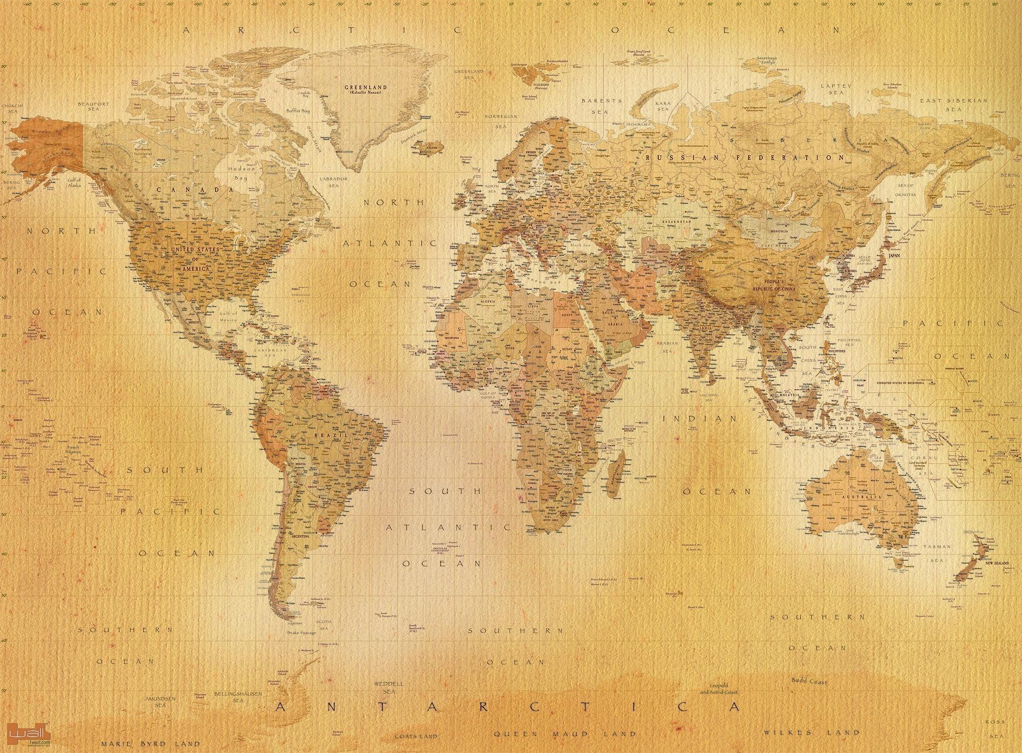 Res: 2000x1473, Old World Map Images Save Vintage World Map Wallpaper Hd New World Map Old  Wallpaper New Old