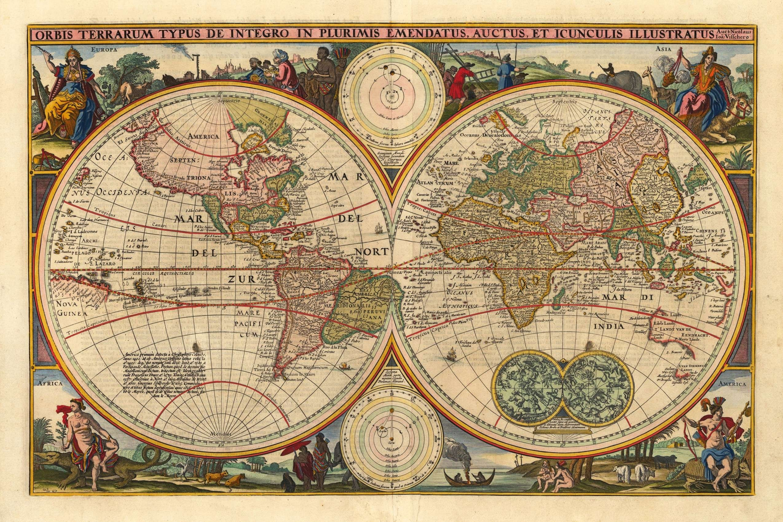 Res: 2548x1700, Antique World Map Images Inspirationa Antique World Map Wallpaper Old Maps  8 Wall Art Central Inside And