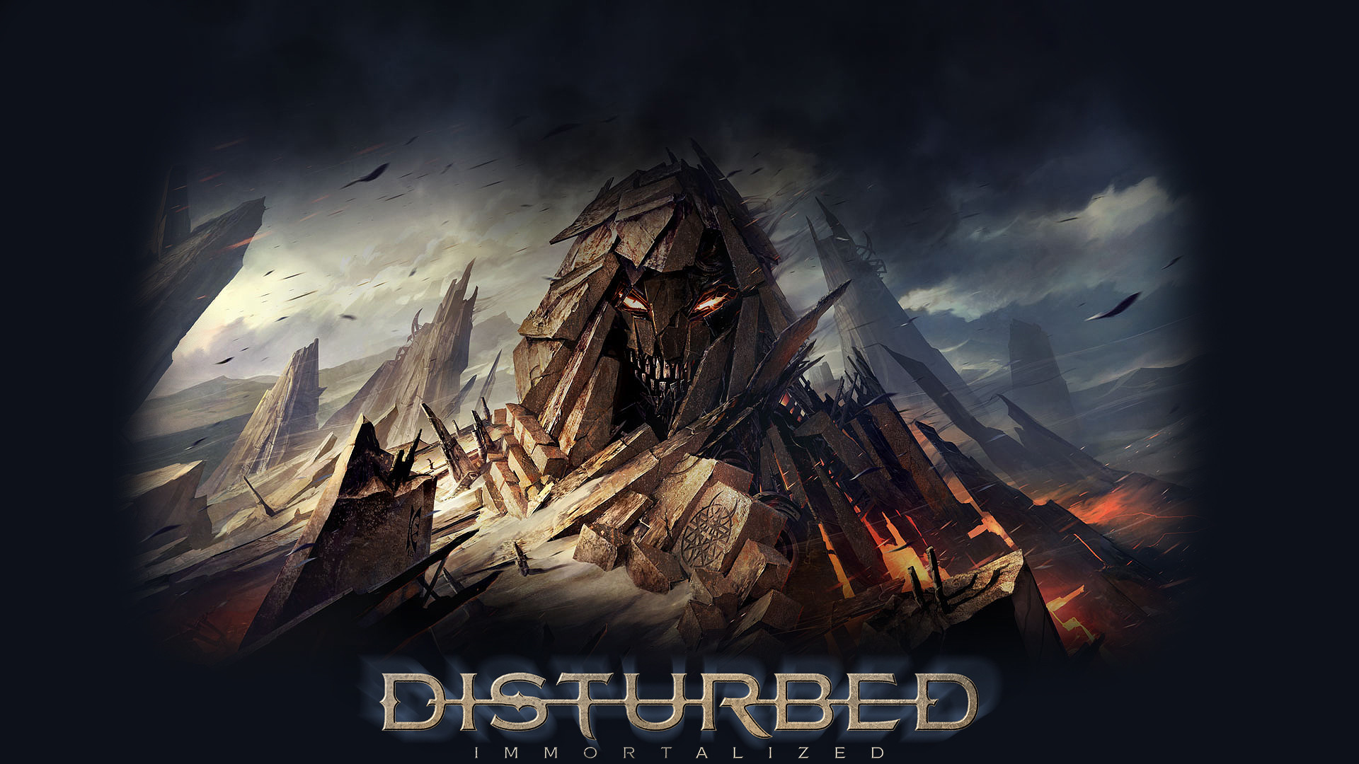 Res: 1920x1080, UMP.53 Disturbed Immortalized Animated,  Disturbed Immortalized  Animated Images