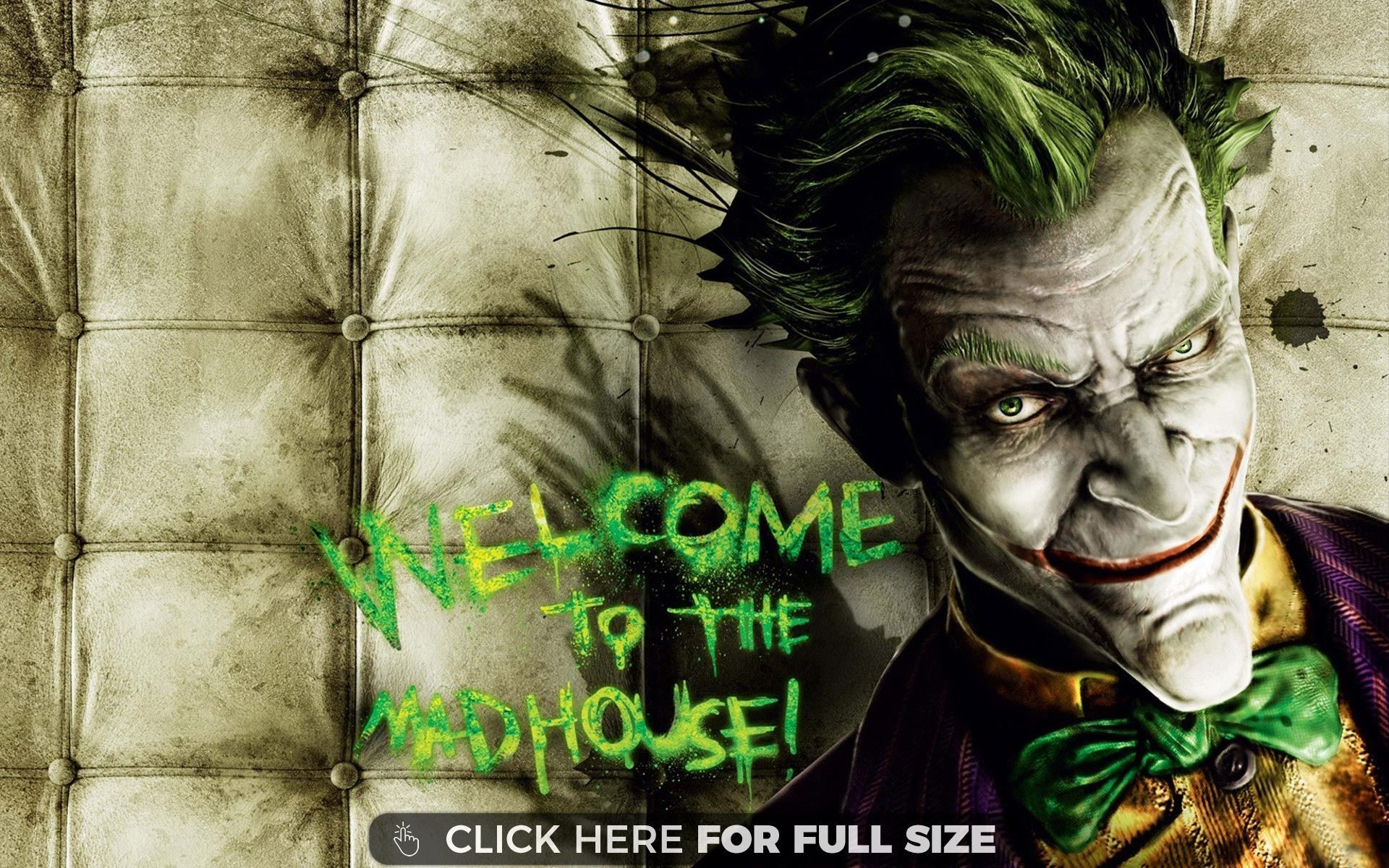 Res: 1920x1200, Joker Batman Arkham Asylum wallpaper