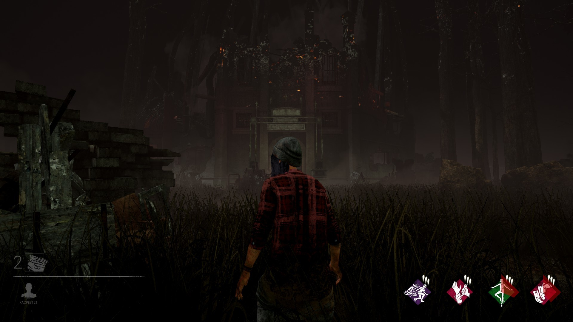 Res: 1920x1080, Killer Shack appears at random on one of the fields of high structures