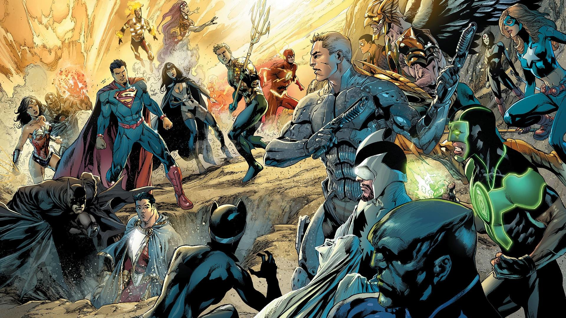 Res: 1920x1080, DC New 52 Wallpaper