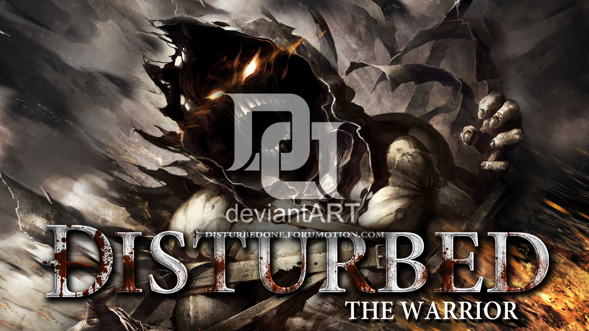 Res: 1920x1080, Disturbed - The Warrior by morbustelevision2
