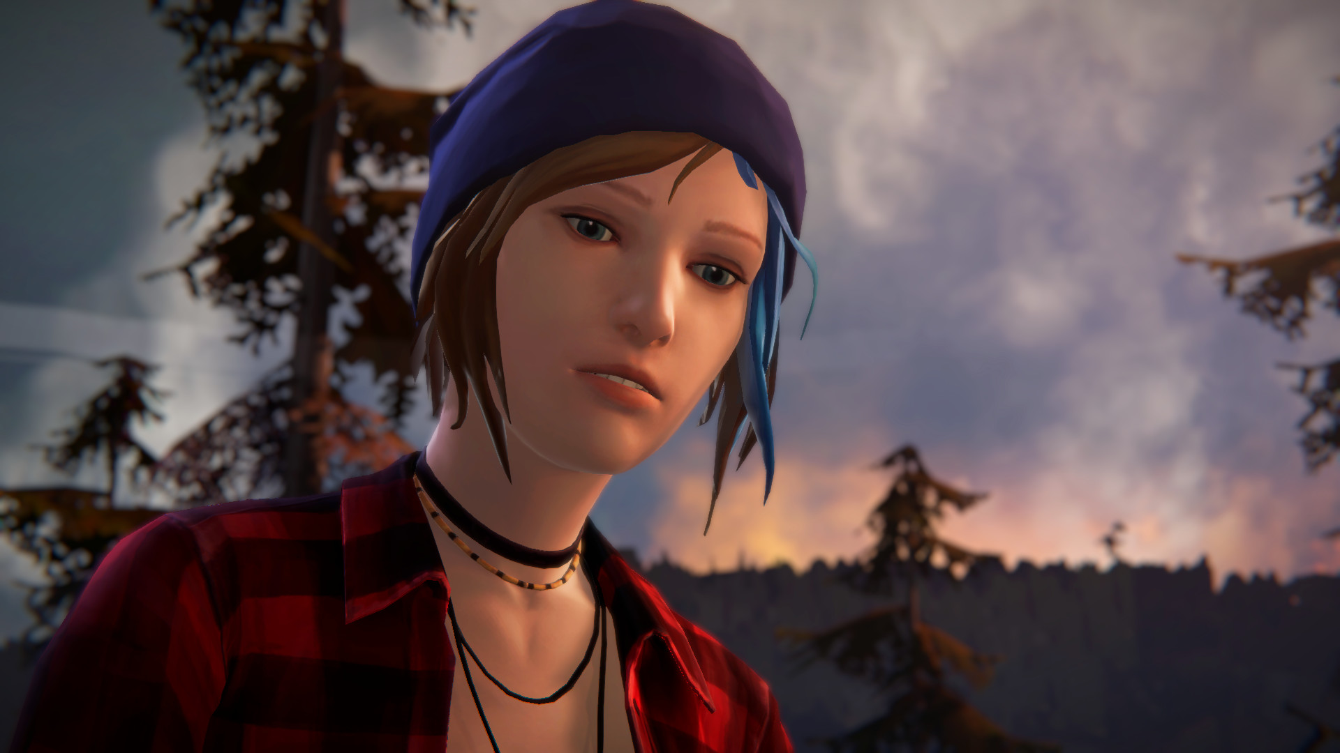 Res: 1920x1080, Computerspiele - Life is Strange: Before The Storm Blue Hair Chloe Price  Wallpaper