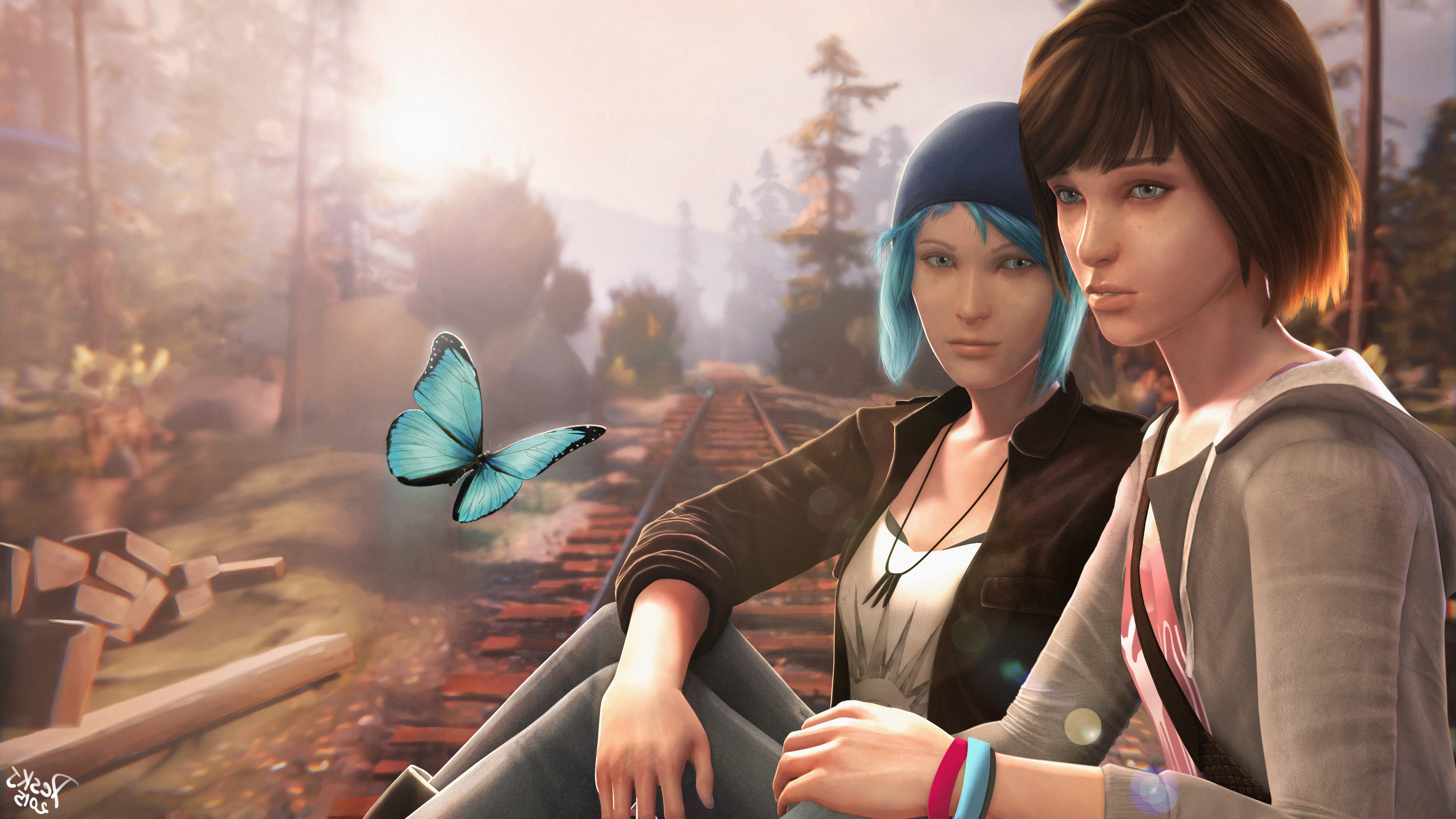 Res: 3000x1688, Max Caulfield, Chloe Price, Life Is Strange, Video Games Wallpapers HD /  Desktop and Mobile Backgrounds
