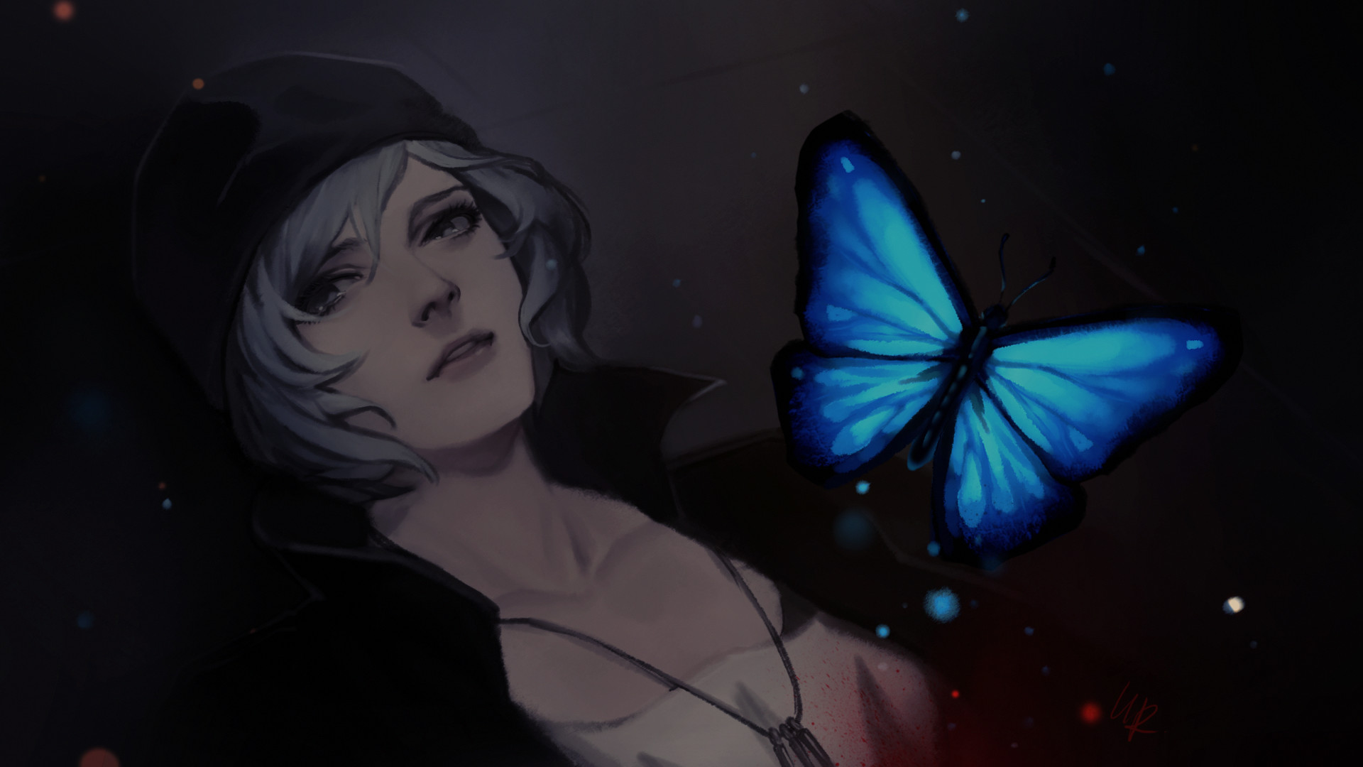 Res: 1920x1080,  - life is strange, chloe price, blue butterfly, artwork #  original resolution