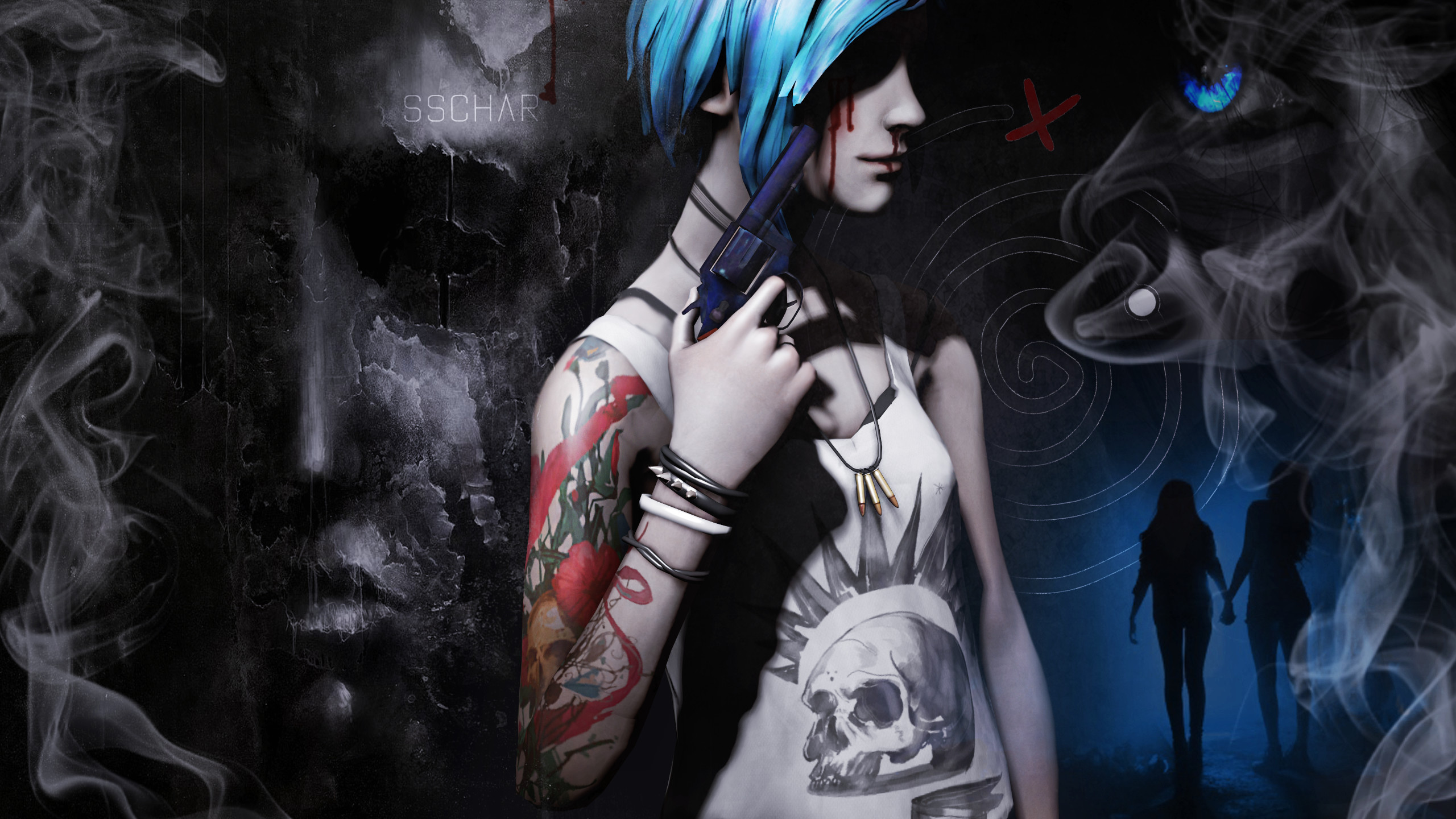 Res: 2560x1440, ... Life Is Strange - Chloe Price Wallpaper 1 by SSchar