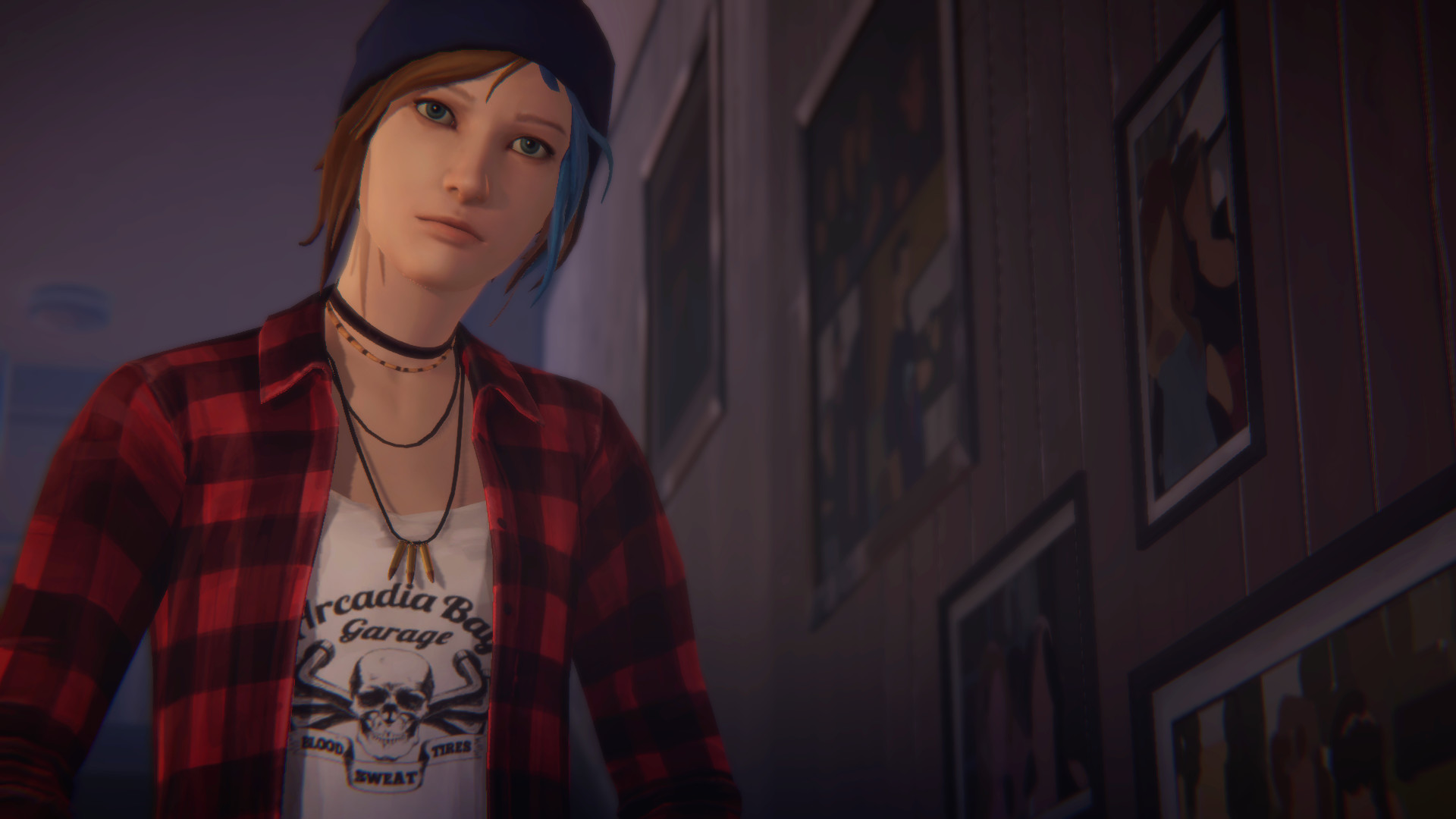 Res: 1920x1080, Video Game - Life is Strange: Before The Storm Chloe Price Blue Hair  Wallpaper