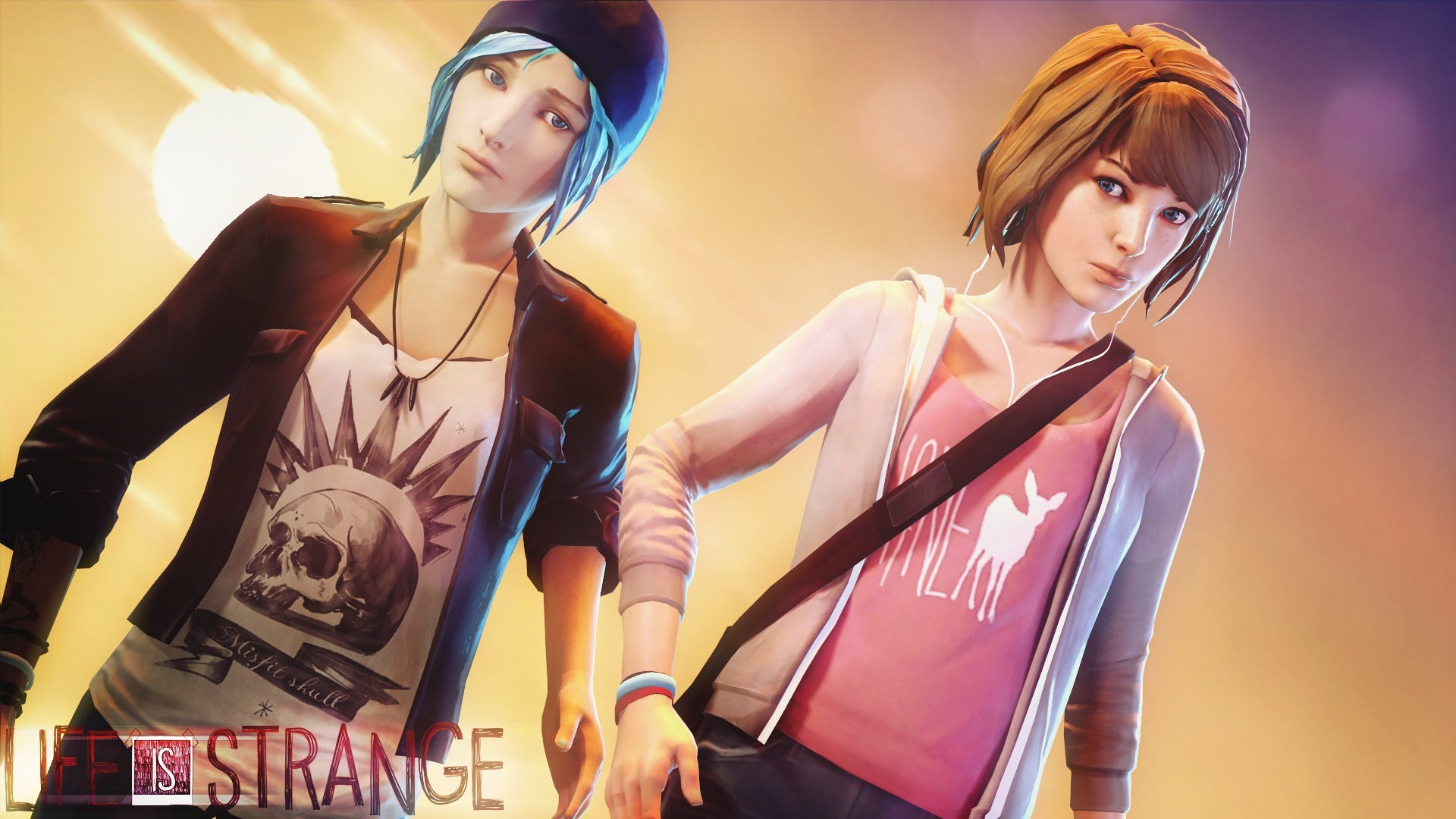 Res: 1920x1080, Max Caulfield Life is Strange Chloe Price 1080p HD Wallpaper Background