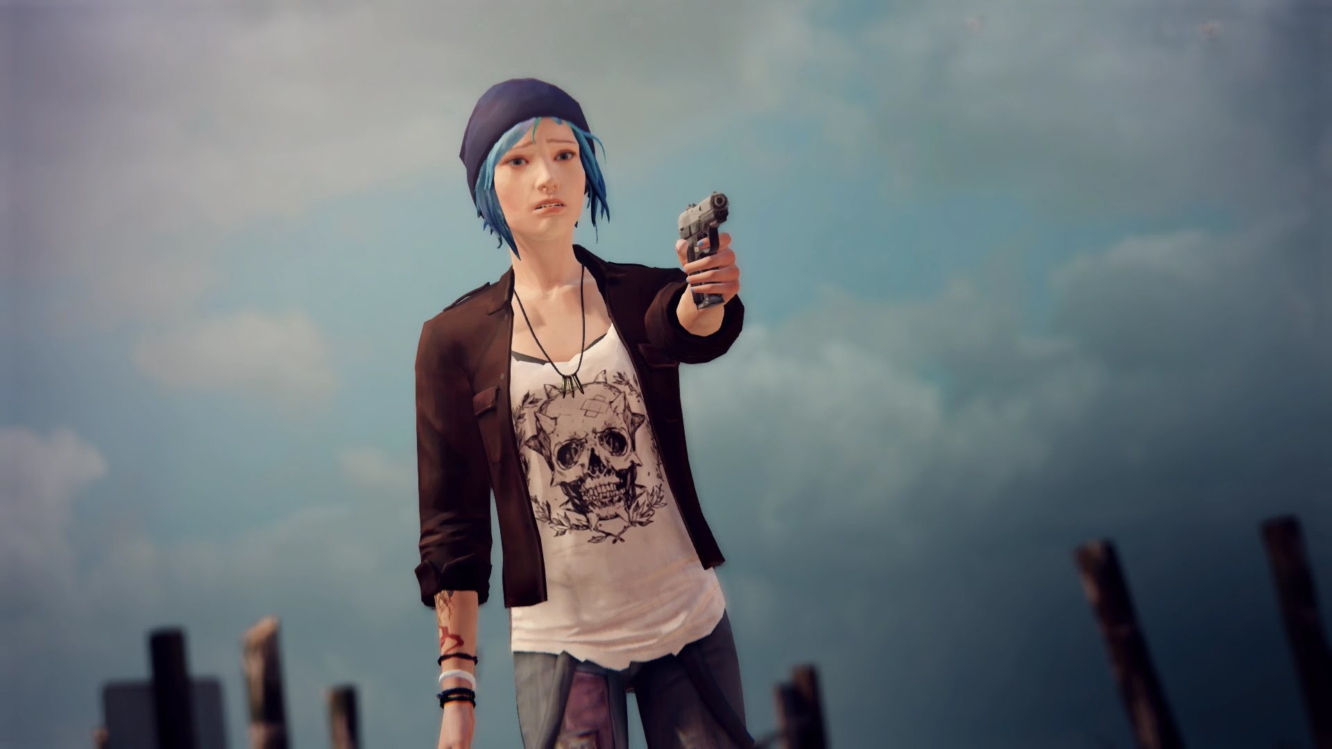 Res: 1920x1080, Life Is Strange Episode 4 Chloe Kills Frank and Pompidou
