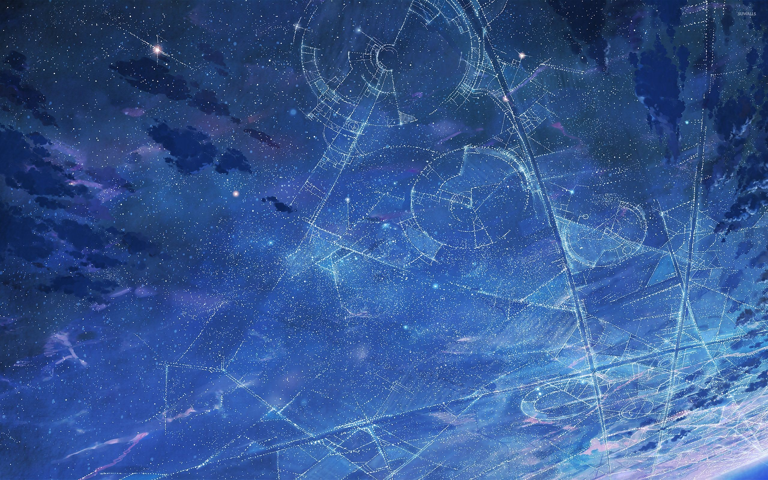 Res: 2560x1600, Constellations wallpaper