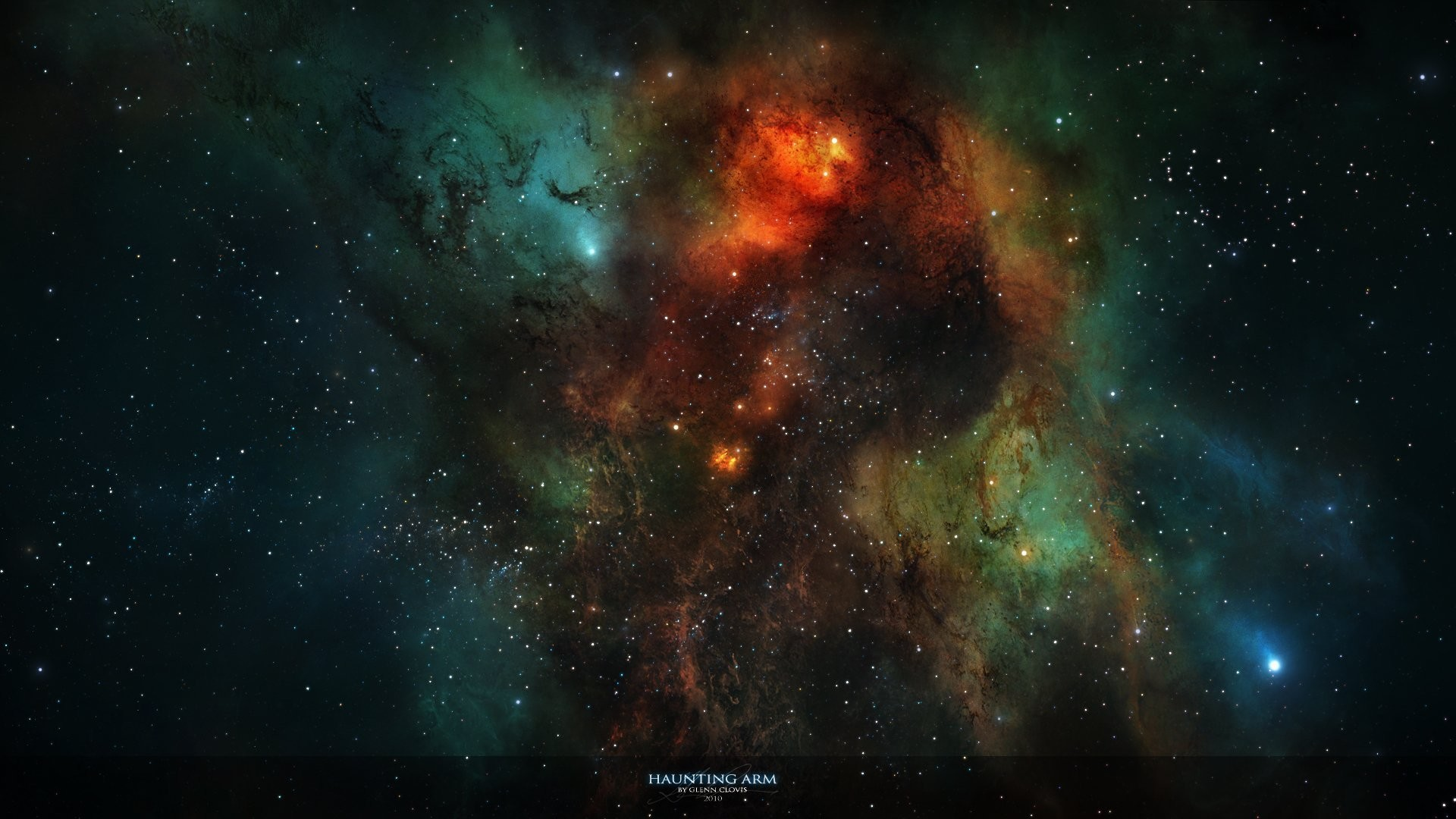 Res: 1920x1080, nebula star light constellation interstellar gas