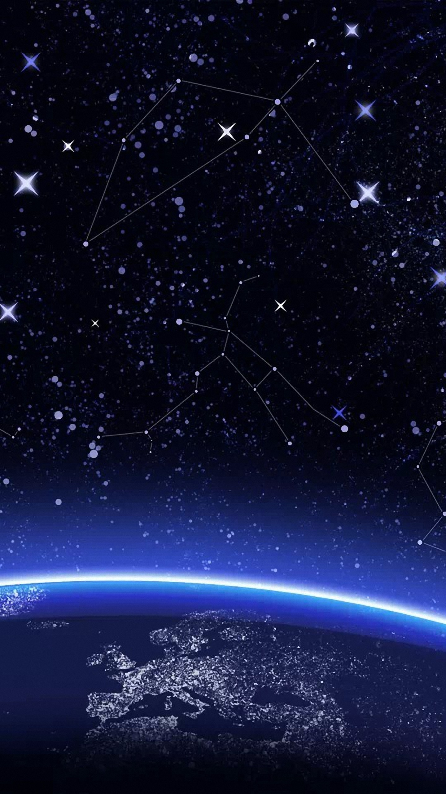 Res: 1440x2560, hd  constellation htc one m9/x9 wallpapers